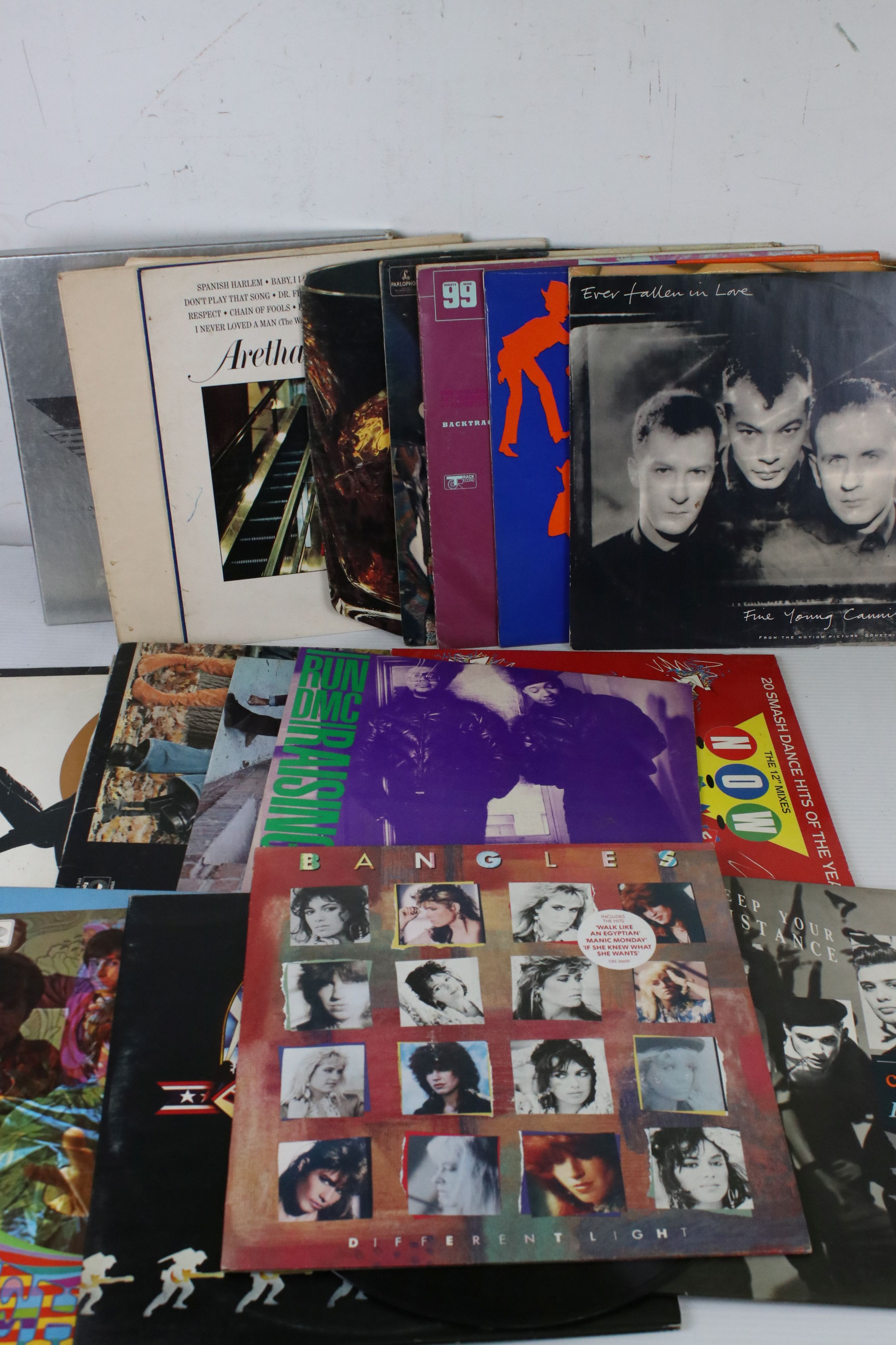 Vinyl - 23 LPs to include compilations such as Backtrack 1 on Track Records, Fifty Years of Film box