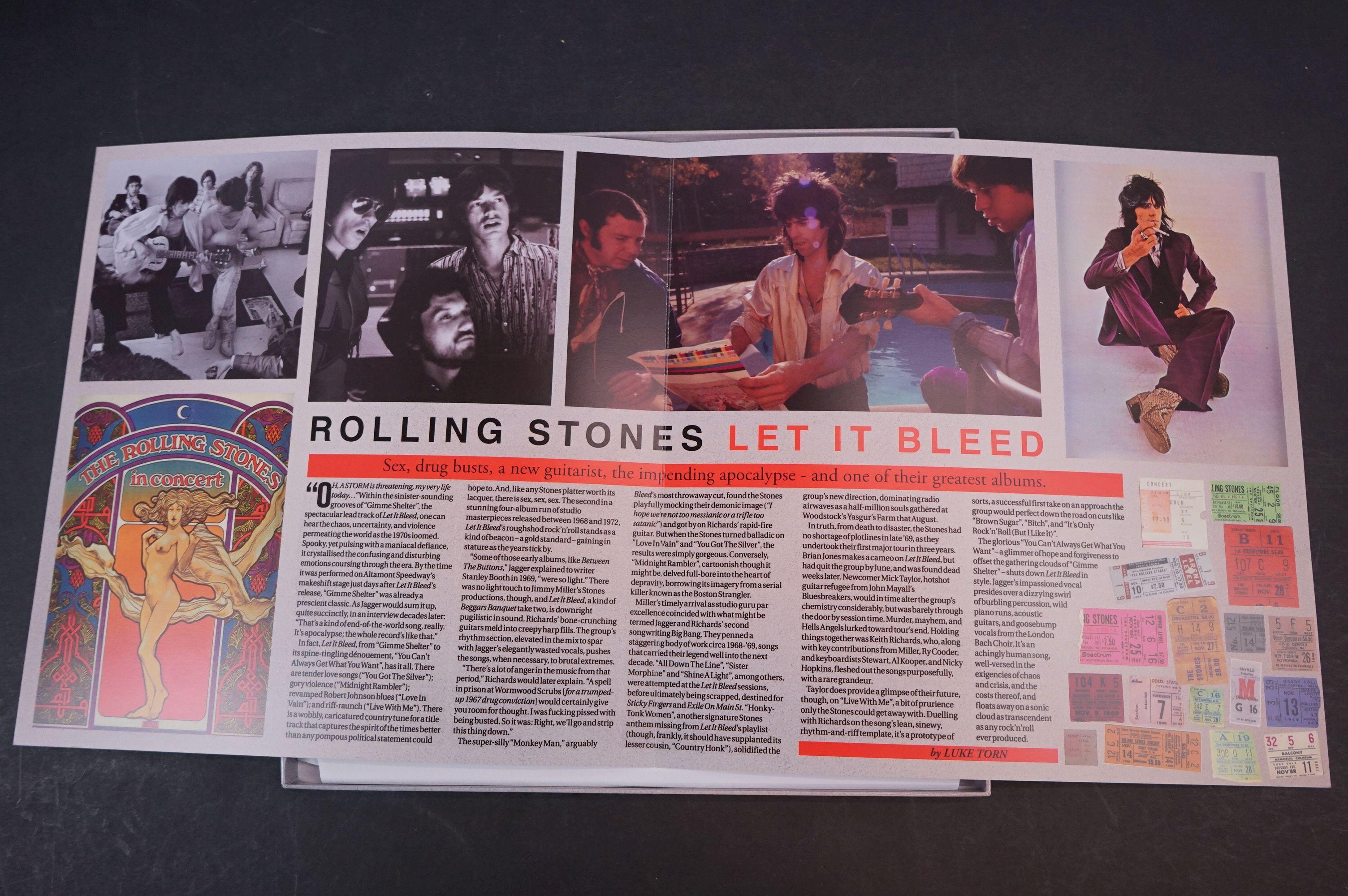 Vinyl - ltd edn The Real Alternate Album Rolling Stones Let It Bleed 3 LP / 2 CD Box Set RTR011, - Image 4 of 9