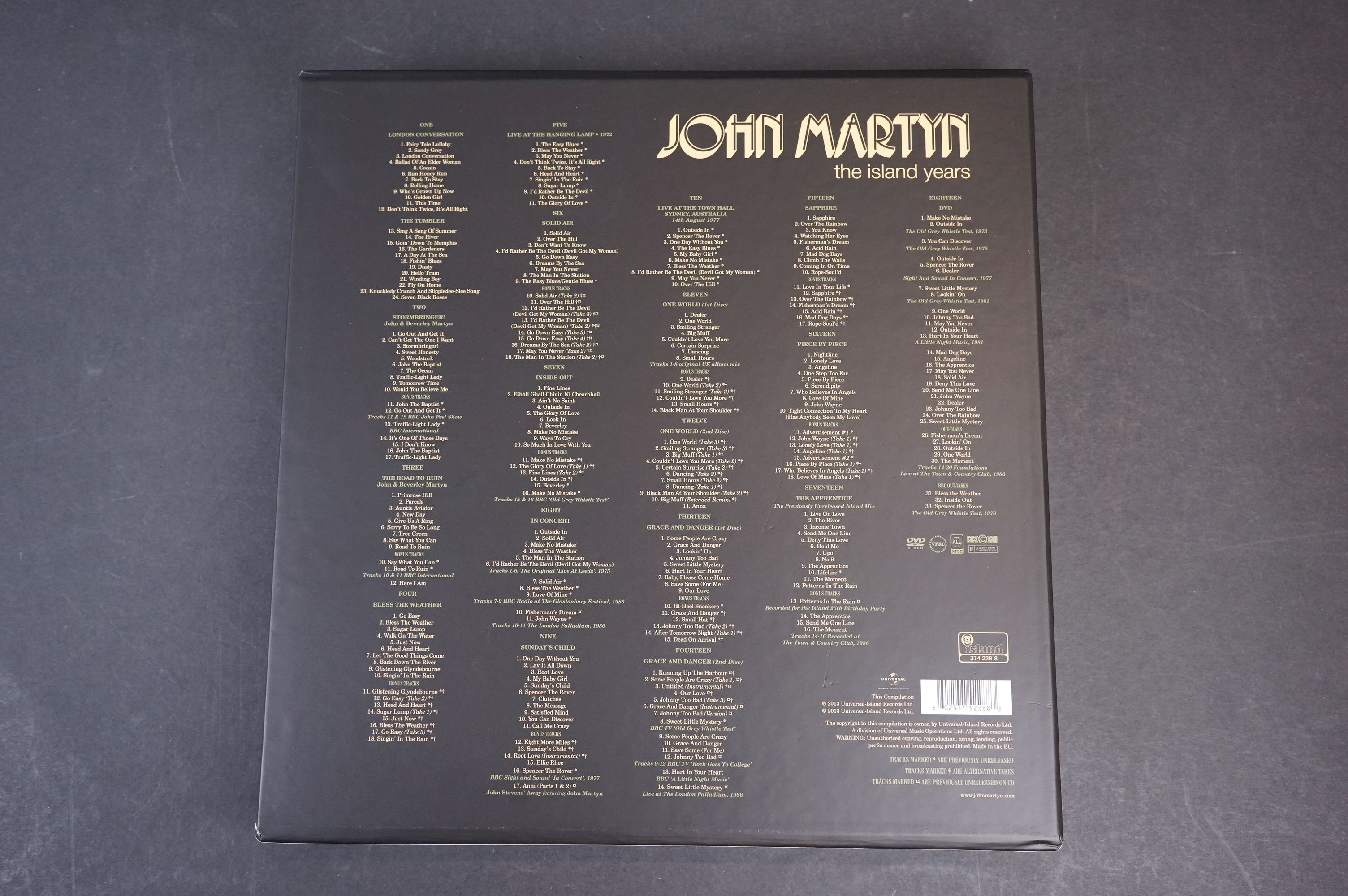 CD / DVD / Vinyl - John Martyn The Island Years 374228-8 complete and ex - Image 10 of 10
