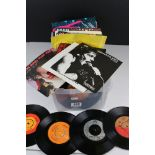 Vinyl - Quantity of 45s mainly from the 1980s, many picture sleeves but some without, vg