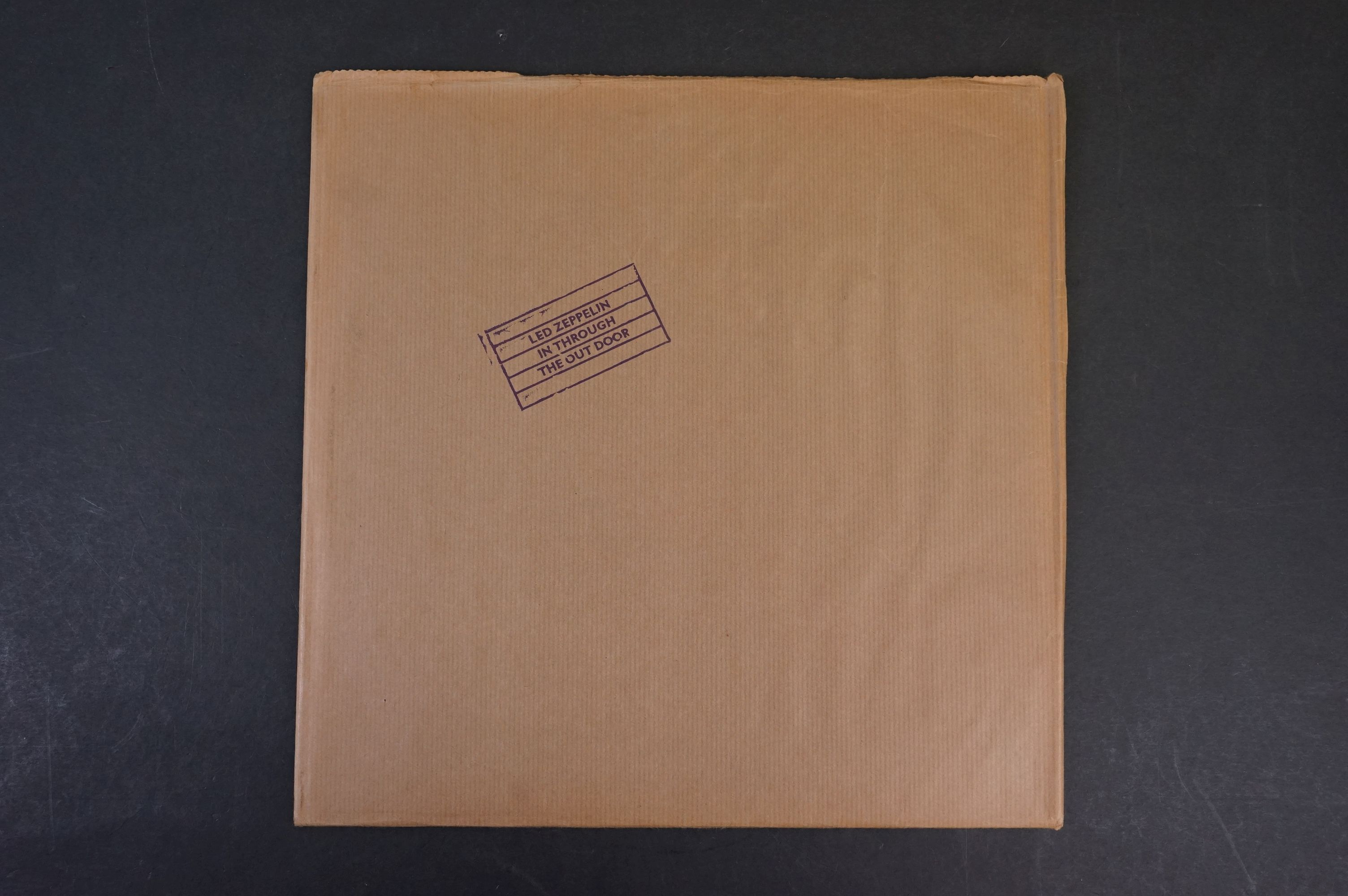 Vinyl - Six Led Zeppelin LPs to include In Through the Outdoor (cover D) SSK59410, Coda 790051, 2 - Image 14 of 17