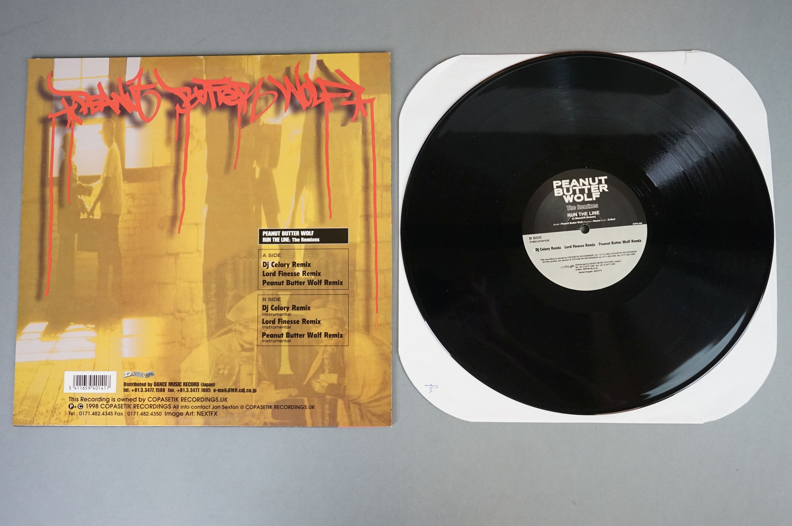 """Vinyl - Slurped Too! 2LP Compilation and 3 x Peanut Butter Wolf 12"""" singles to include Run The - Image 3 of 11"""
