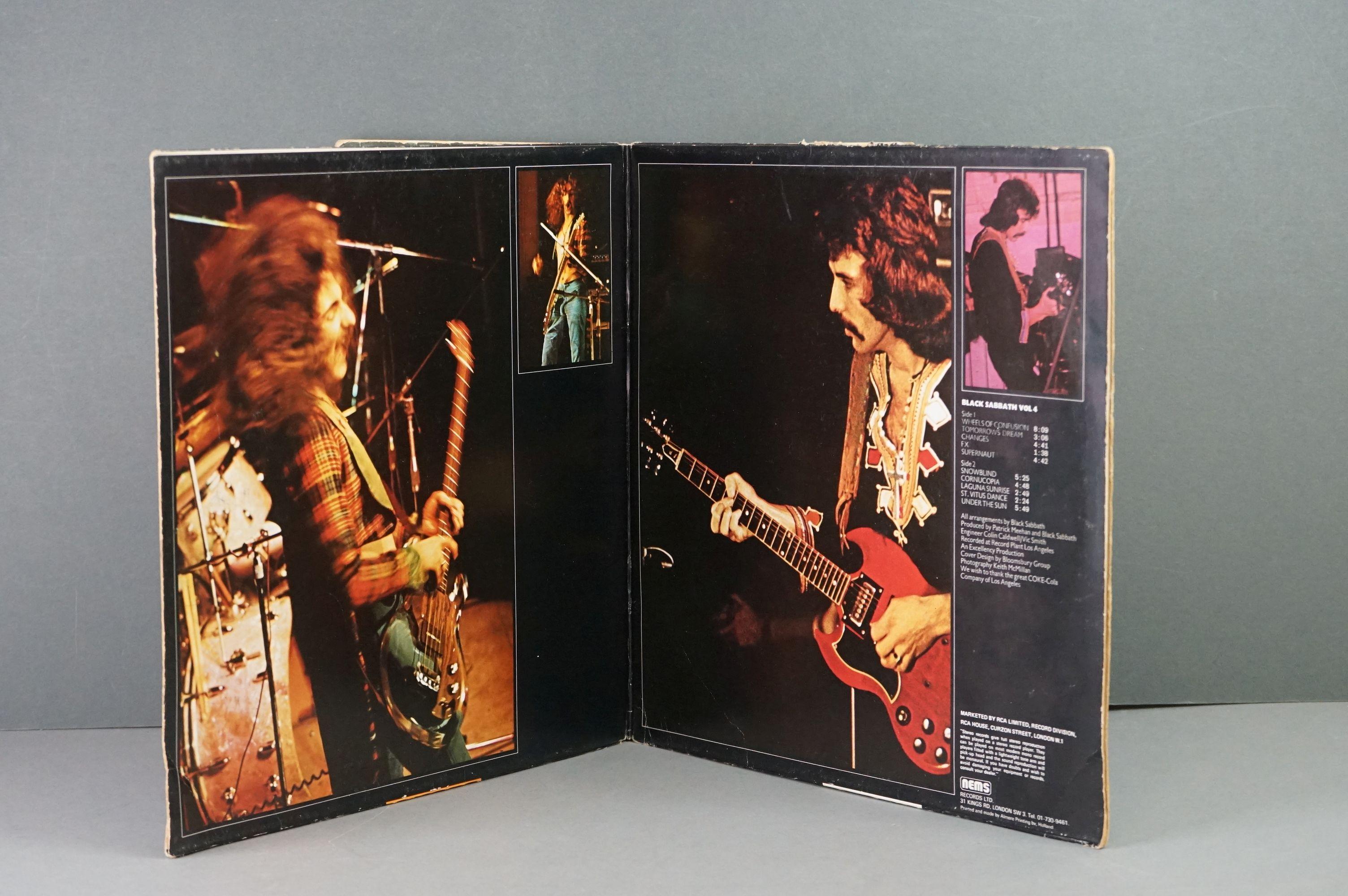 Vinyl - Twelve Black Sabbath vinyl LP's to include Technical Ecstasy (Vertigo Records PRICE 40), - Image 13 of 17