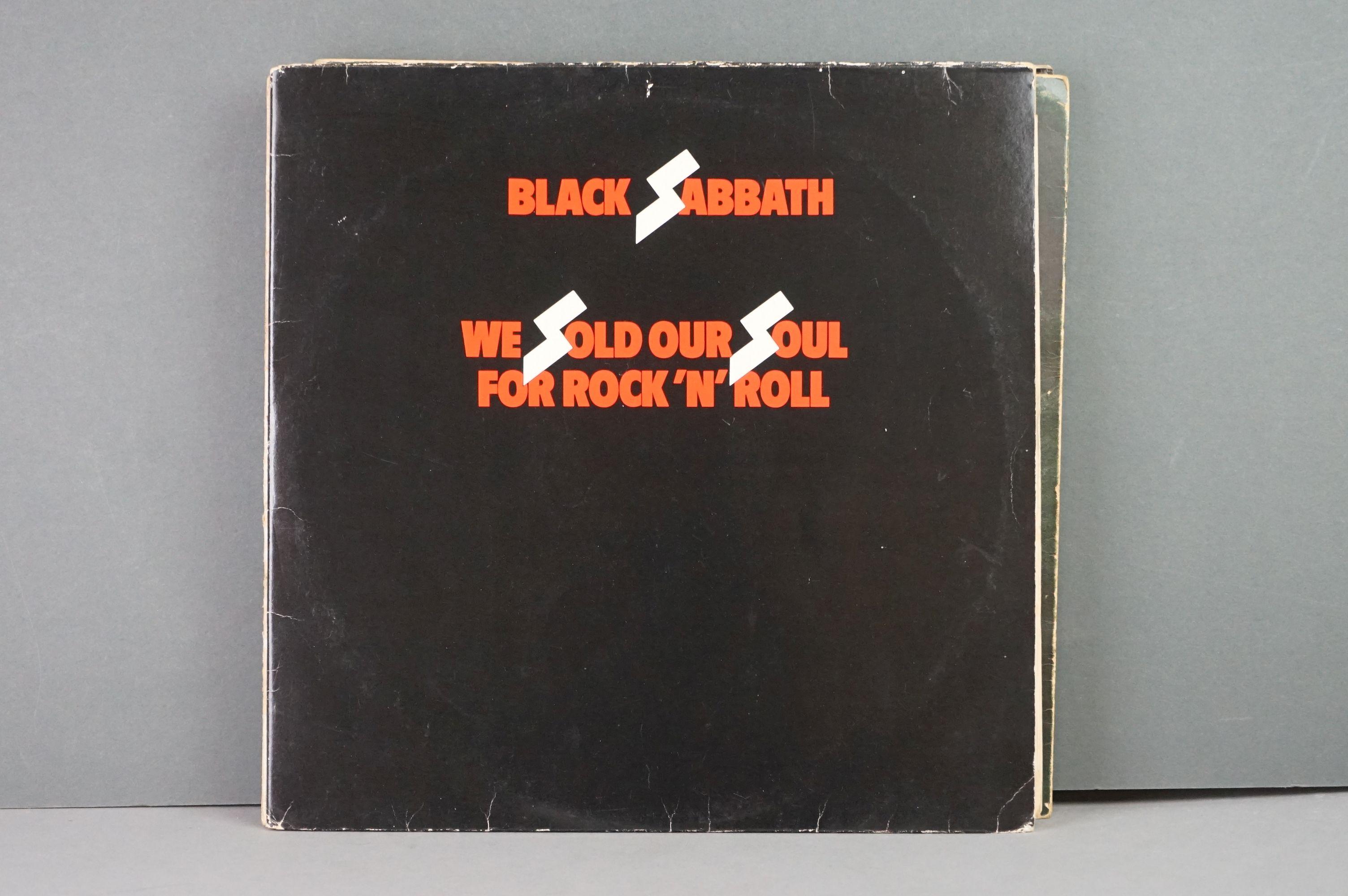 Vinyl - Twelve Black Sabbath vinyl LP's to include Technical Ecstasy (Vertigo Records PRICE 40), - Image 8 of 17