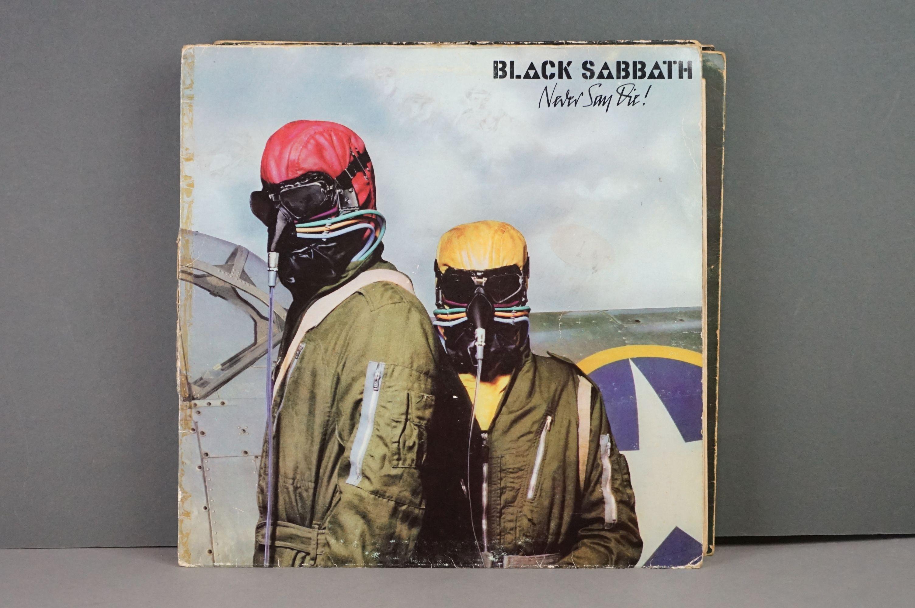 Vinyl - Twelve Black Sabbath vinyl LP's to include Technical Ecstasy (Vertigo Records PRICE 40), - Image 6 of 17