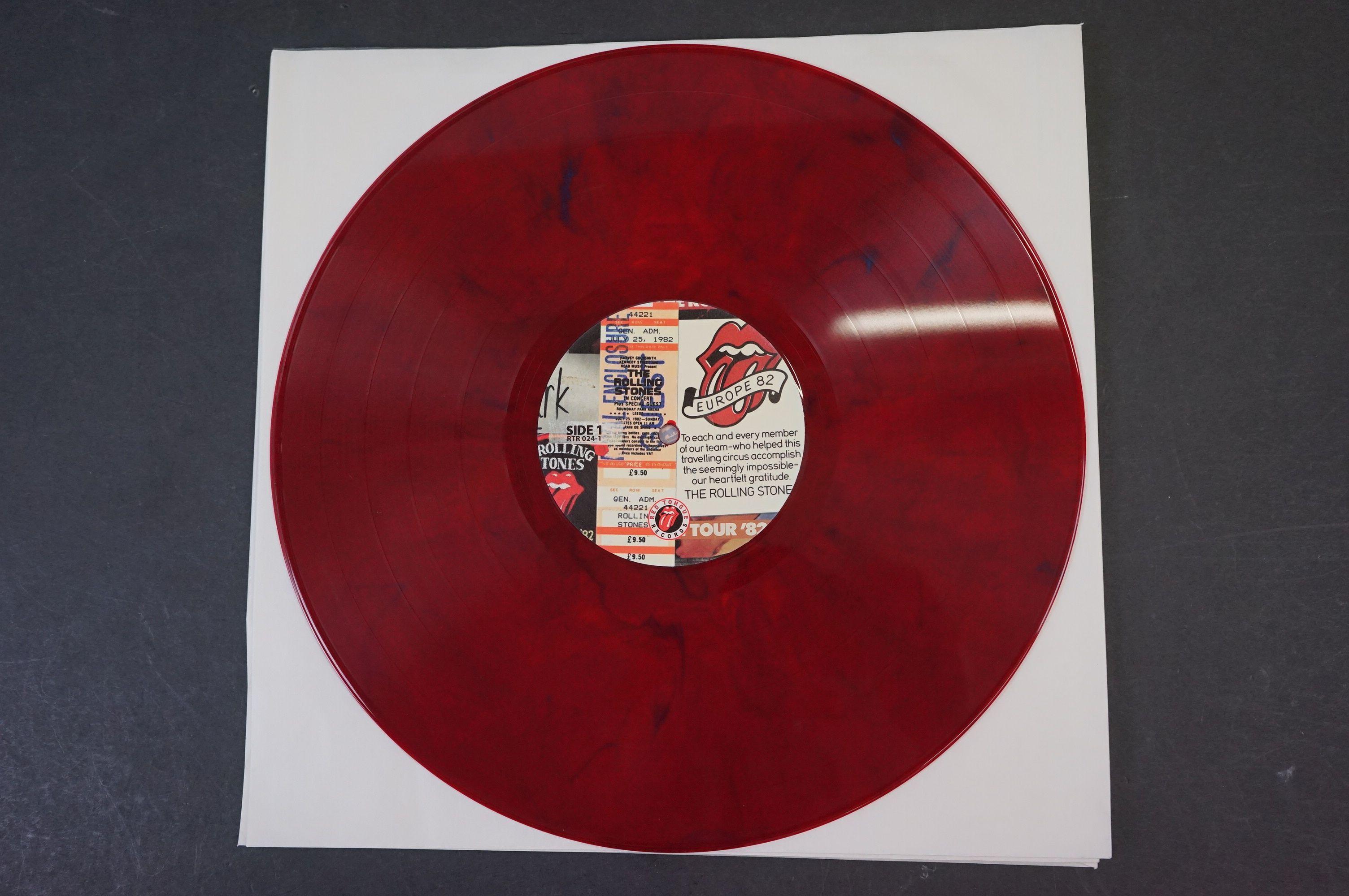 Vinyl - ltd edn The Real Alternate Album Rolling Stones Leeds July 25 1982 3 LP / 2 CD Box Set RTR - Image 5 of 10