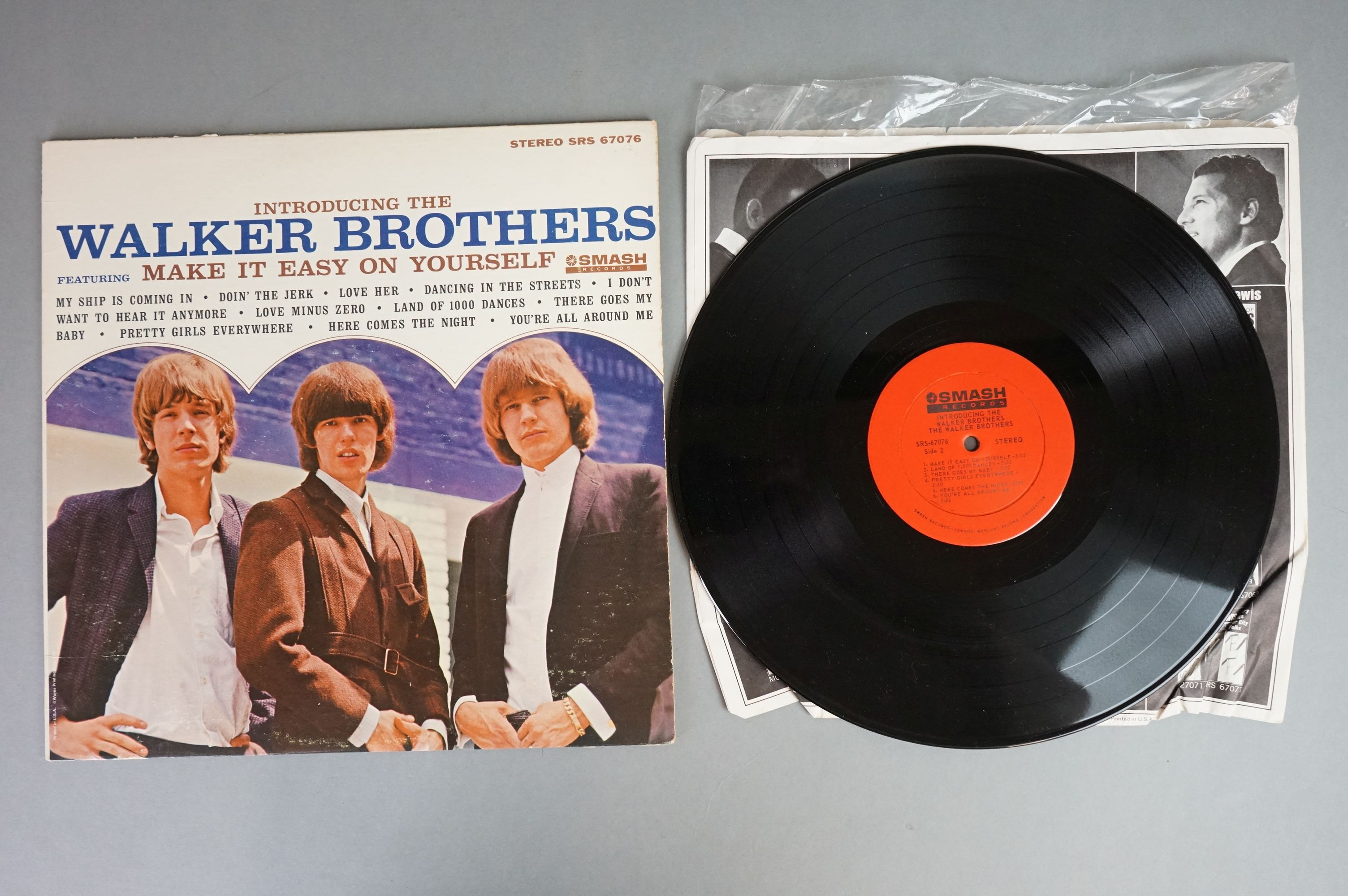 Vinyl - Five Walker Brothers vinyl LP's to include Scott (Phillips Records BL 7816), The Fabulous - Image 7 of 10