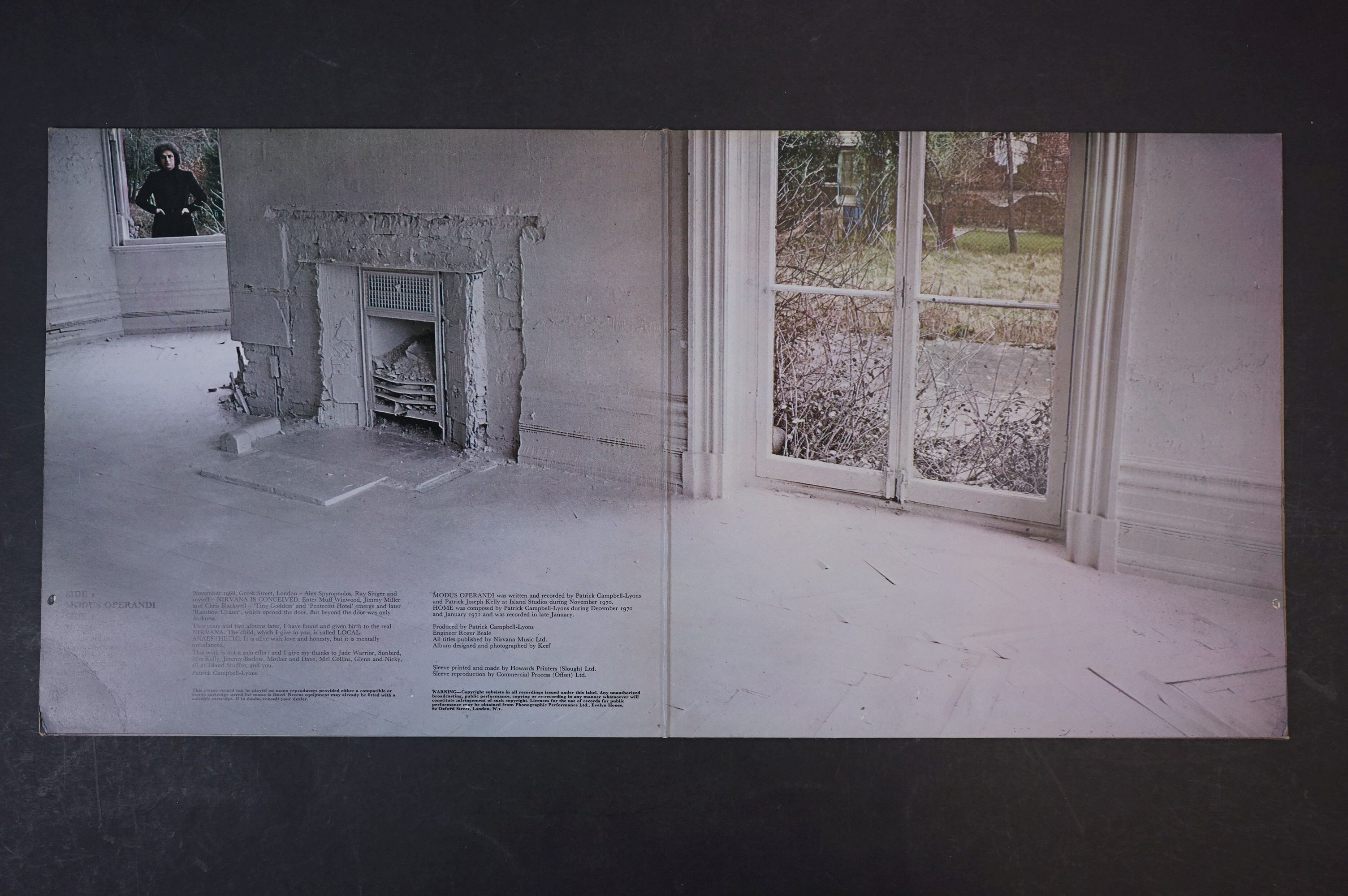 Vinyl - Nirvana Local Anaesthetic LP on Vertigo VO 6360031 gatefold sleeve, swirl logo, swirl - Image 3 of 8