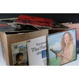Vinyl - Rock & Pop collection of 29 LP's featuring The Beatles, Rolling Stones, Jimi Hendrix,