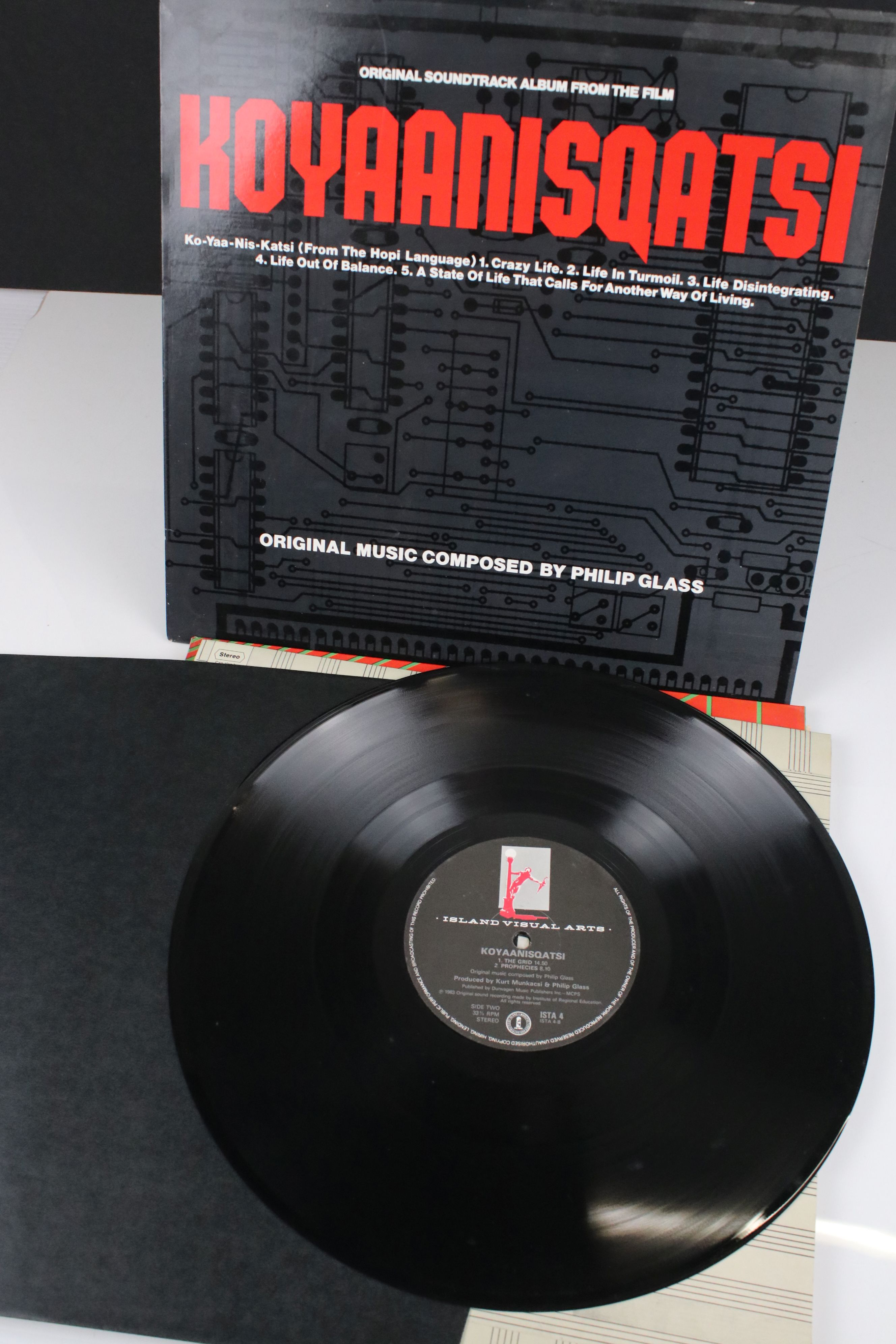 Vinyl - Four Electronic Classical LPs to include Terry Riley In C, Philip Glass Koyaanisqqatsi, - Image 5 of 6