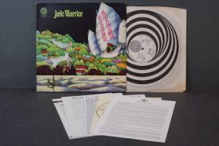 Vinyl - Jade Warrior self titled LP on Vertigo VP 6360033 gatefold sleeve, swirl inner sleeve, vinyl