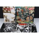 Vinyl - Agnostic Front - Four LPs to include Cause For Alarm (German pressing), Liberty and