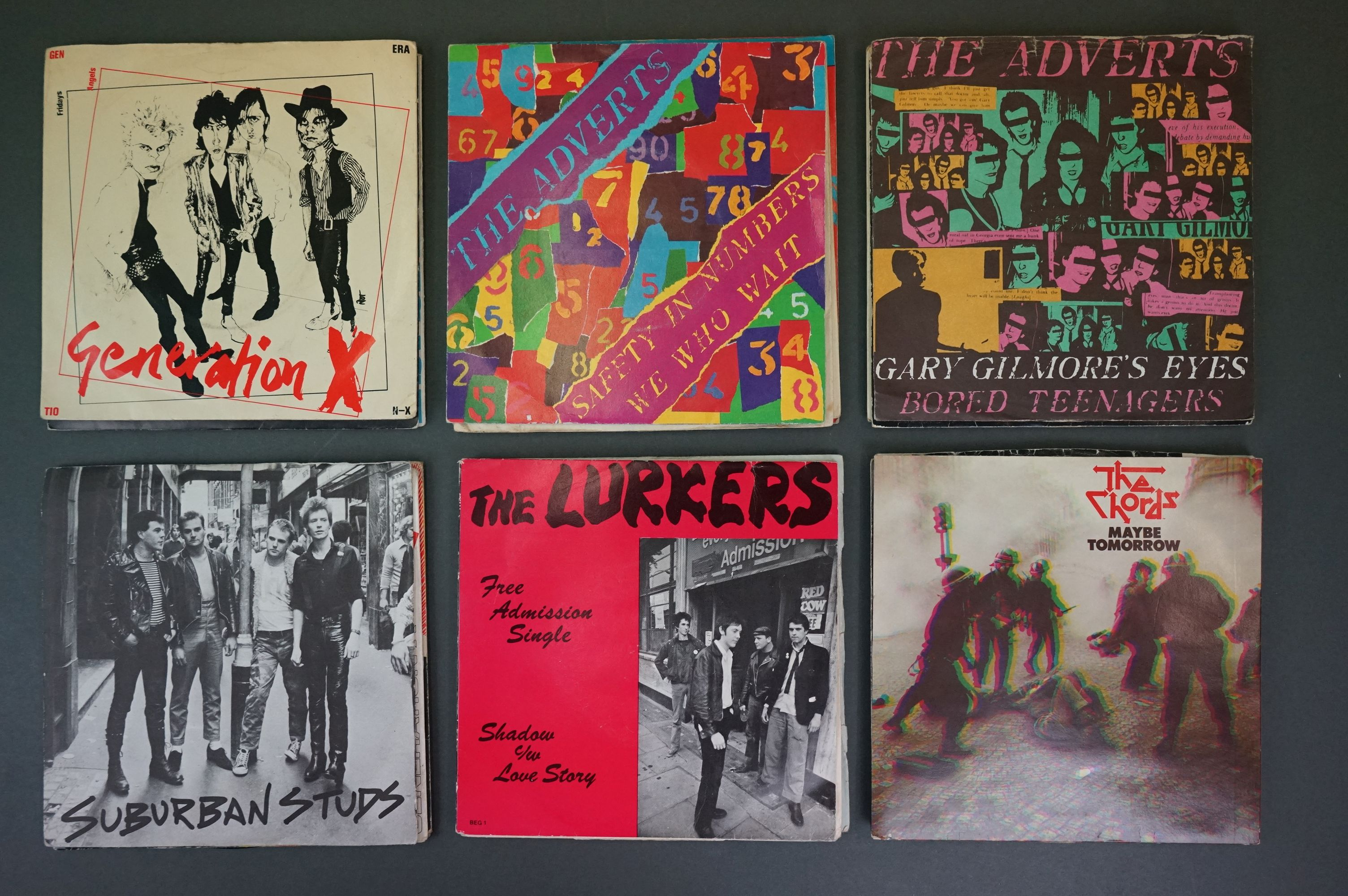 Vinyl - Approx 39 first generation punk singles including The Clash x 8, The Buzzcocks x 7, - Image 5 of 8