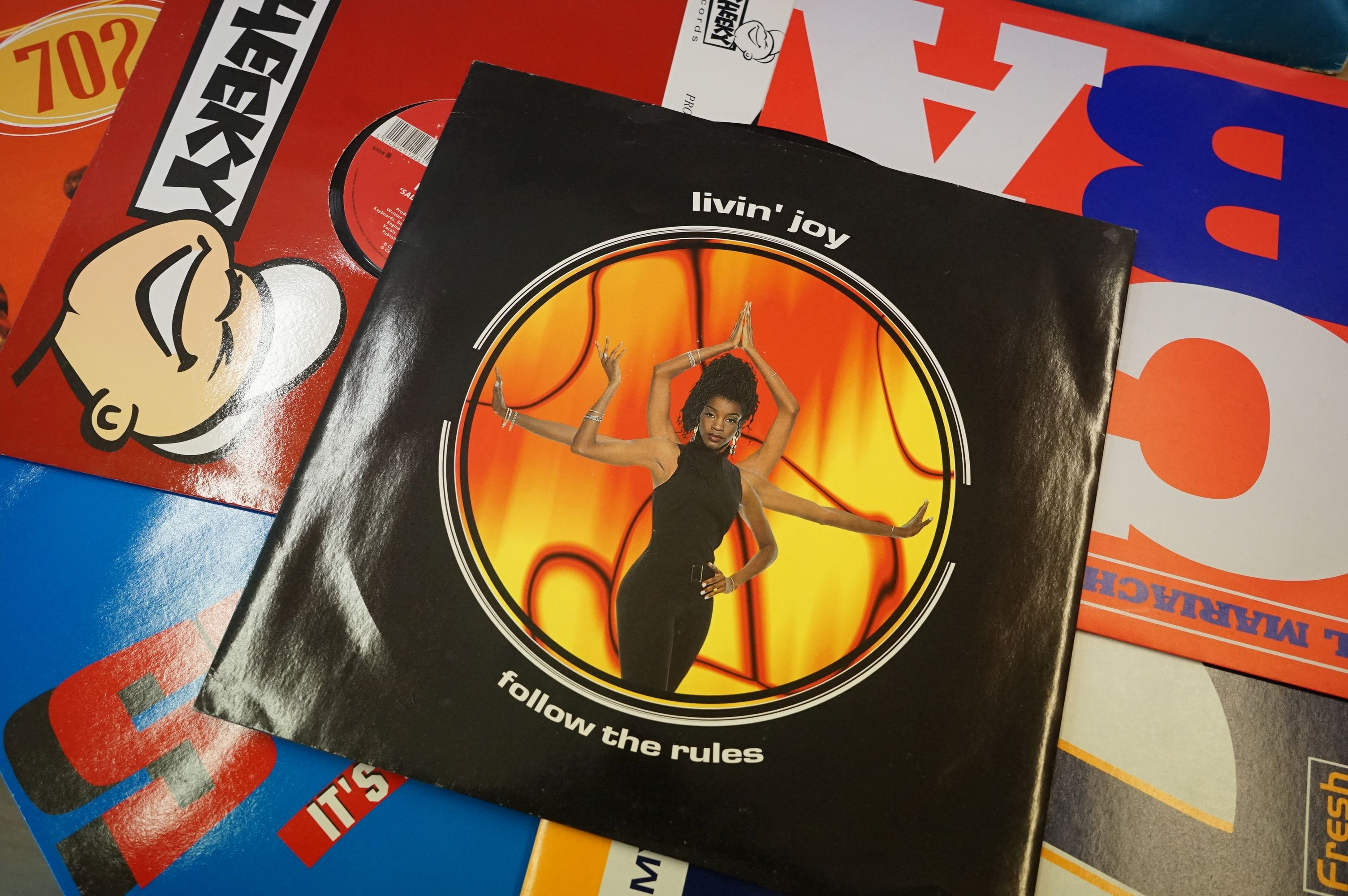 Vinyl - Large collection of LPs spanning the genres and decades (four boxes) - Image 5 of 8