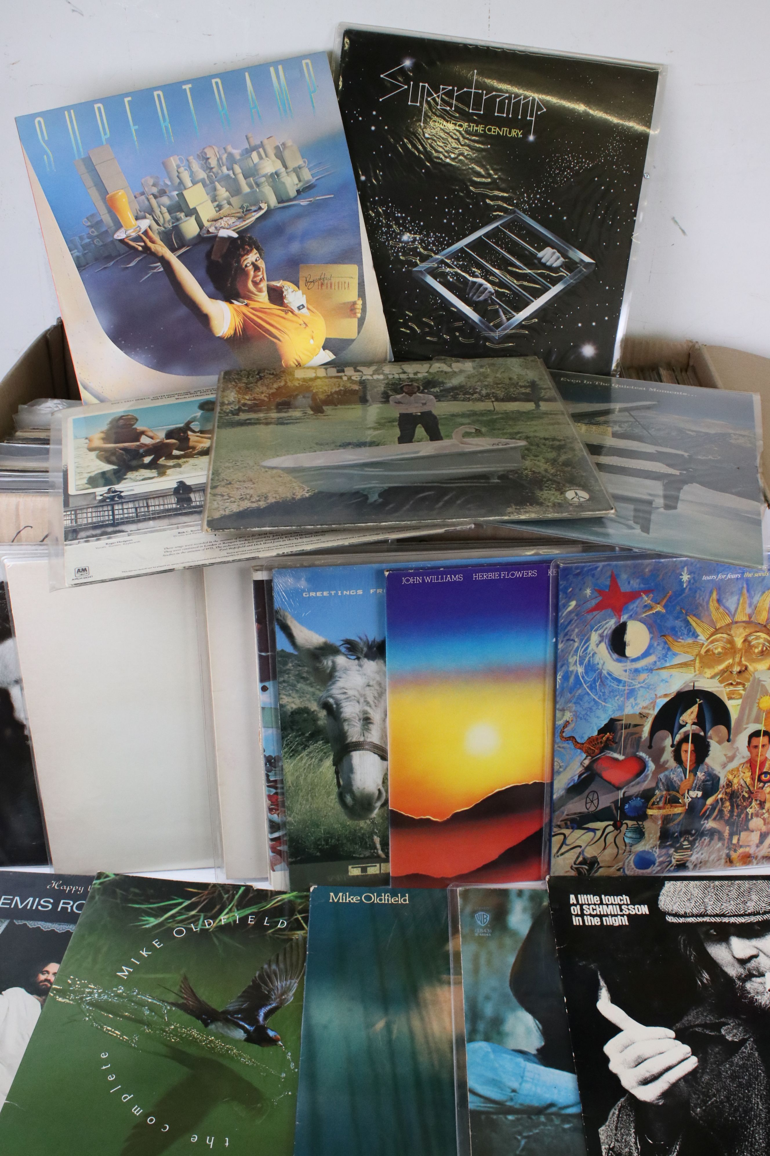 Vinyl - Approx 150 Rock & Pop LP's including Elton John, Fine Young Cannibals, Roxy Music, Sad Cafe,
