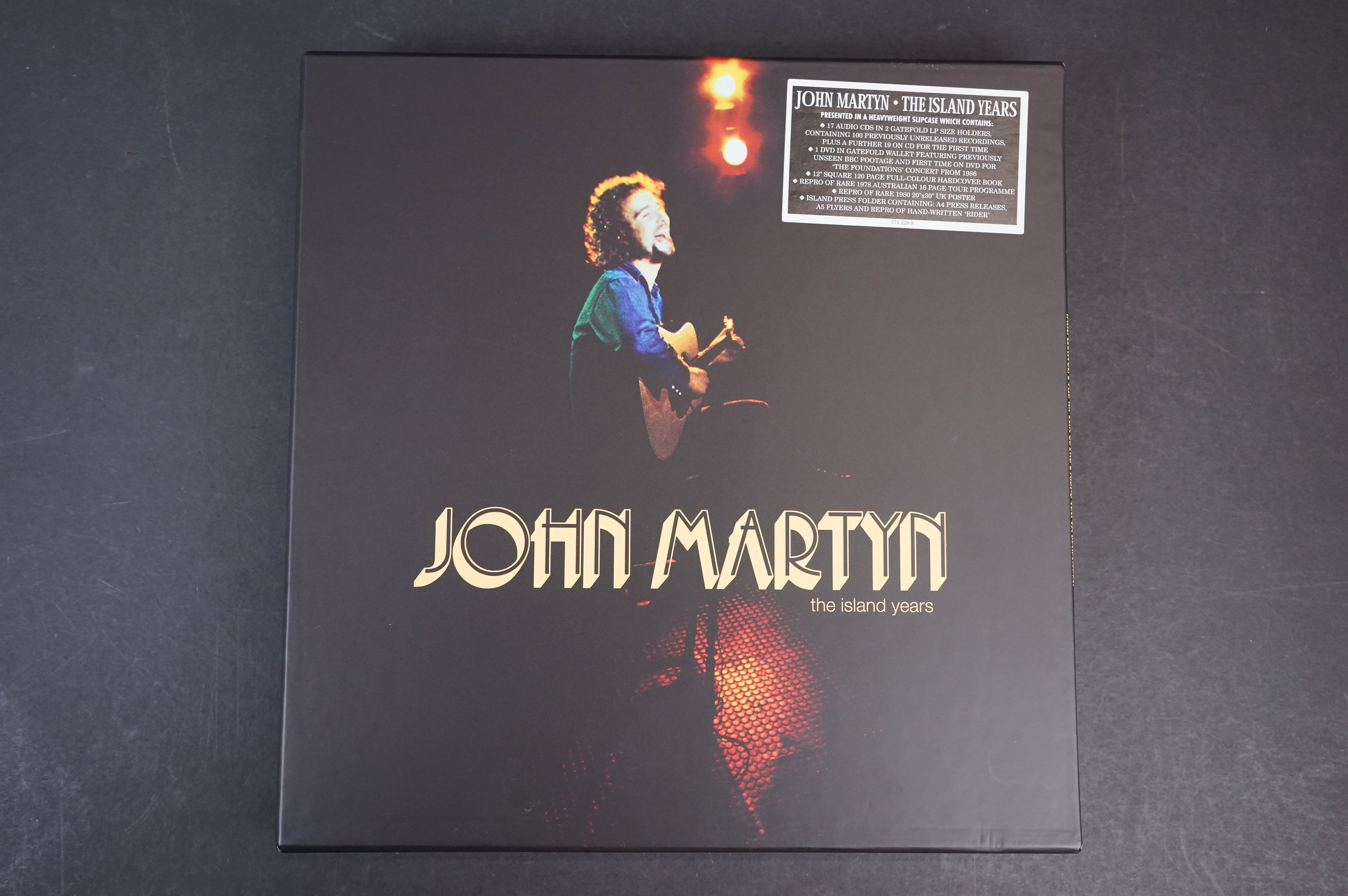 CD / DVD / Vinyl - John Martyn The Island Years 374228-8 complete and ex