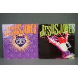 Vinyl - Two Jesus Jones LPs to include Liquidizer on FOODLP3 and Doubt FOODLP5 with inner sleeve,
