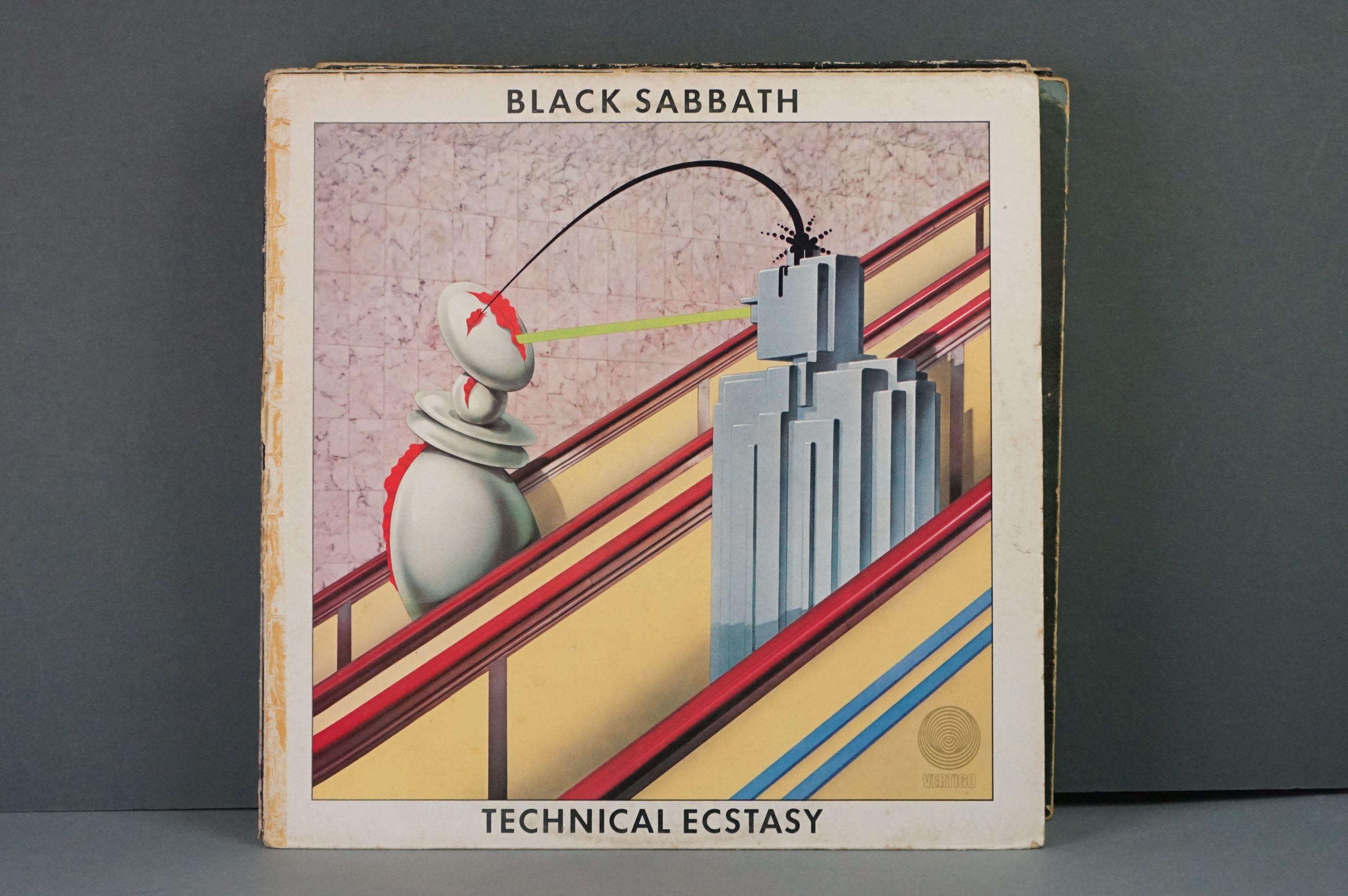 Vinyl - Twelve Black Sabbath vinyl LP's to include Technical Ecstasy (Vertigo Records PRICE 40), - Image 2 of 17