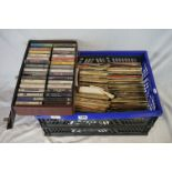 """Vinyl - Approx 200 vinyl 7"""" singles spanning the genres and the decades, most in original picture"""