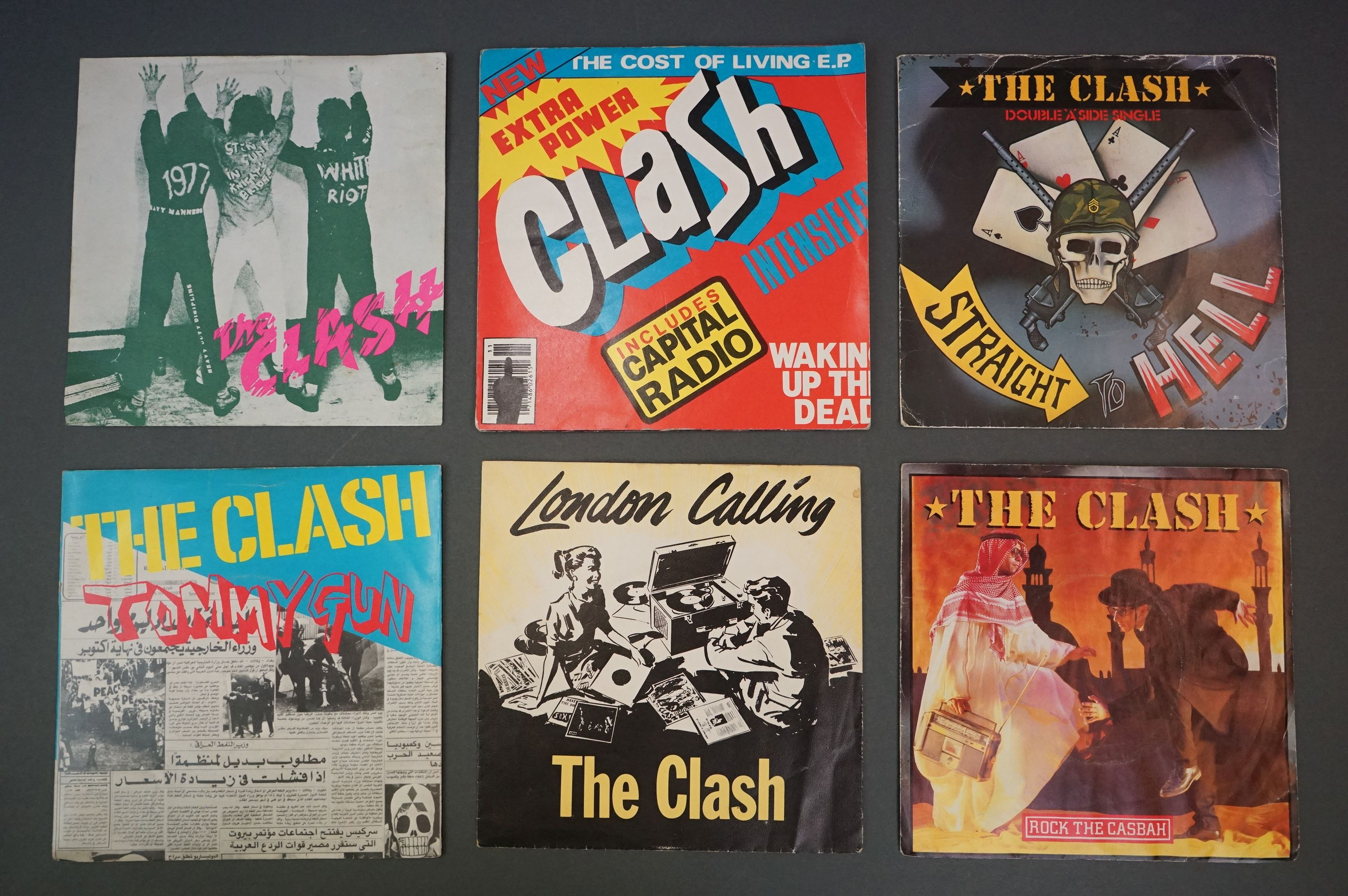 Vinyl - Approx 39 first generation punk singles including The Clash x 8, The Buzzcocks x 7, - Image 2 of 8