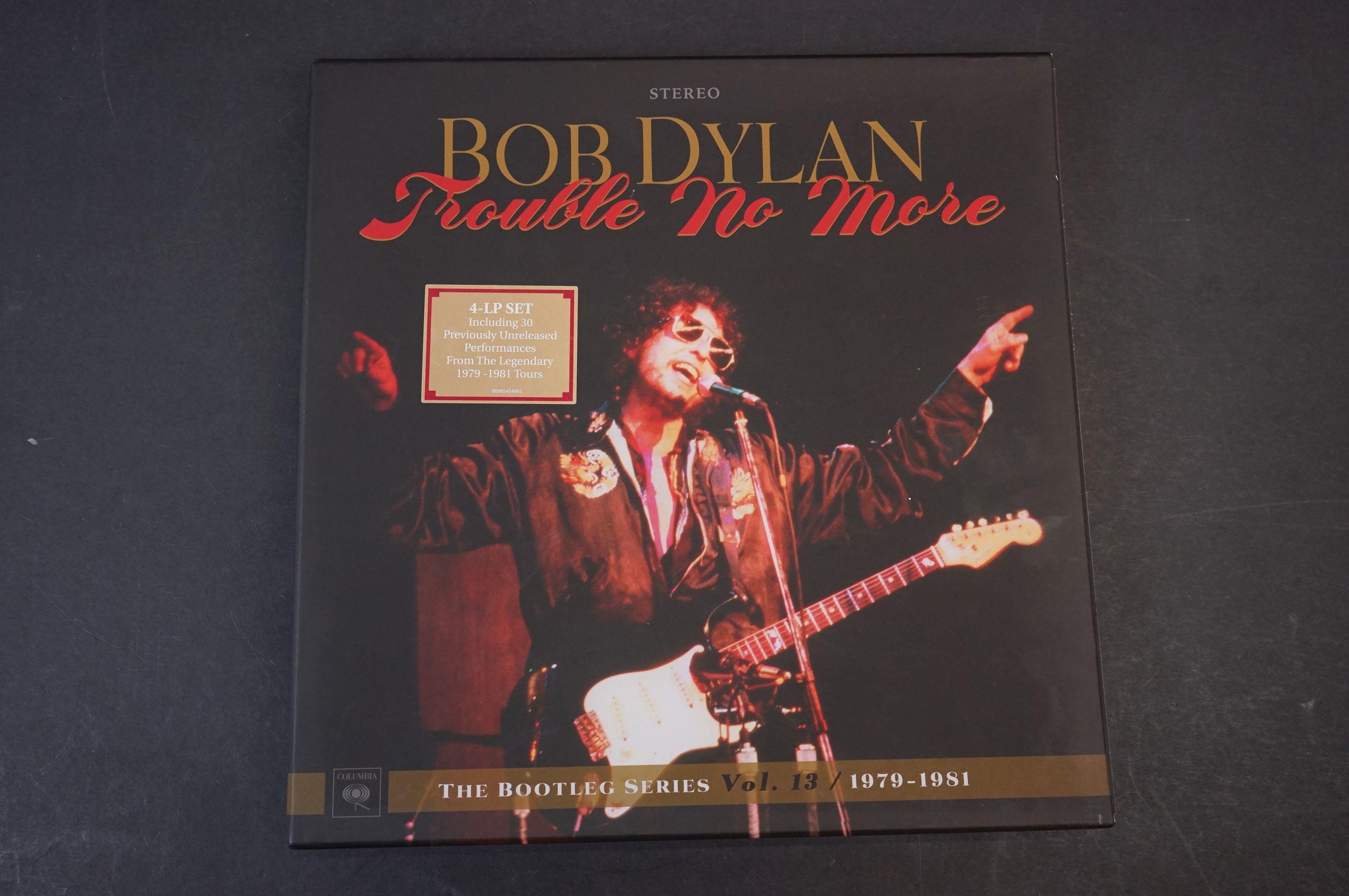 Vinyl - Bob Dylan Trouble No More The Bootleg Series vol 13 1979-1981 4 LP Box Set, ex