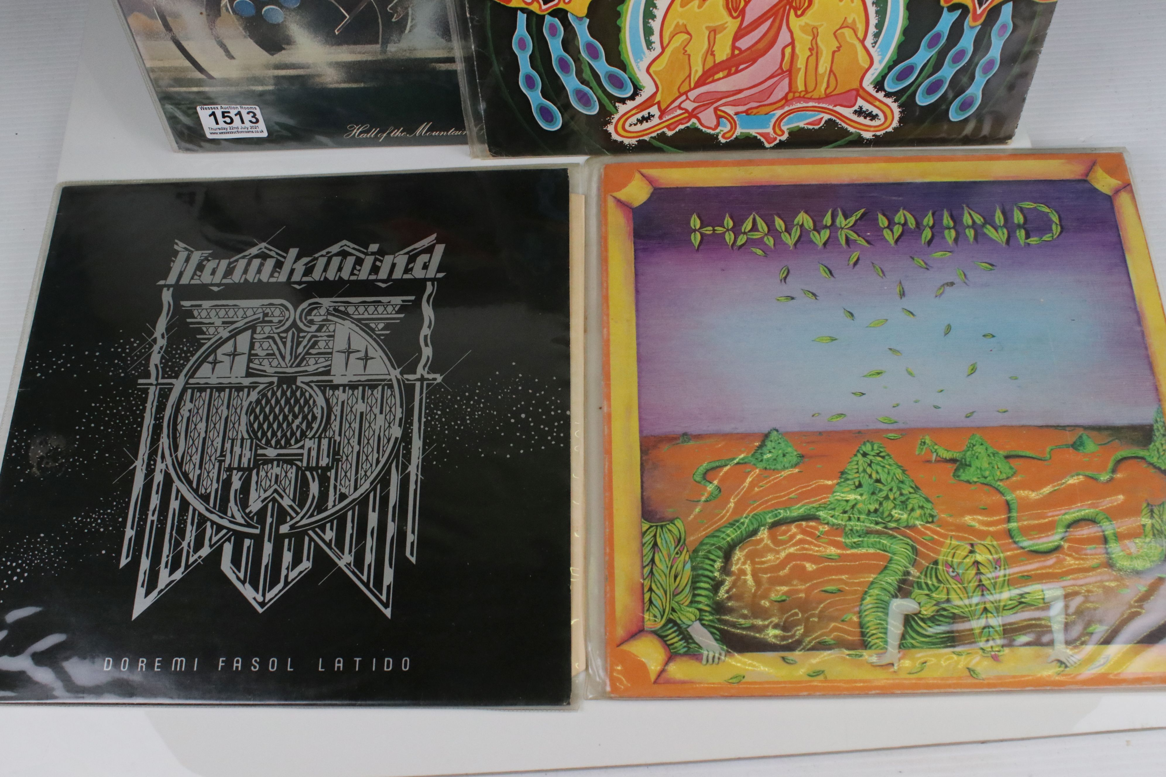 Vinyl - Four Hawkwind LPs to include self titled (LBS83348) gatefold sleeve, black Liberty label, - Image 2 of 3