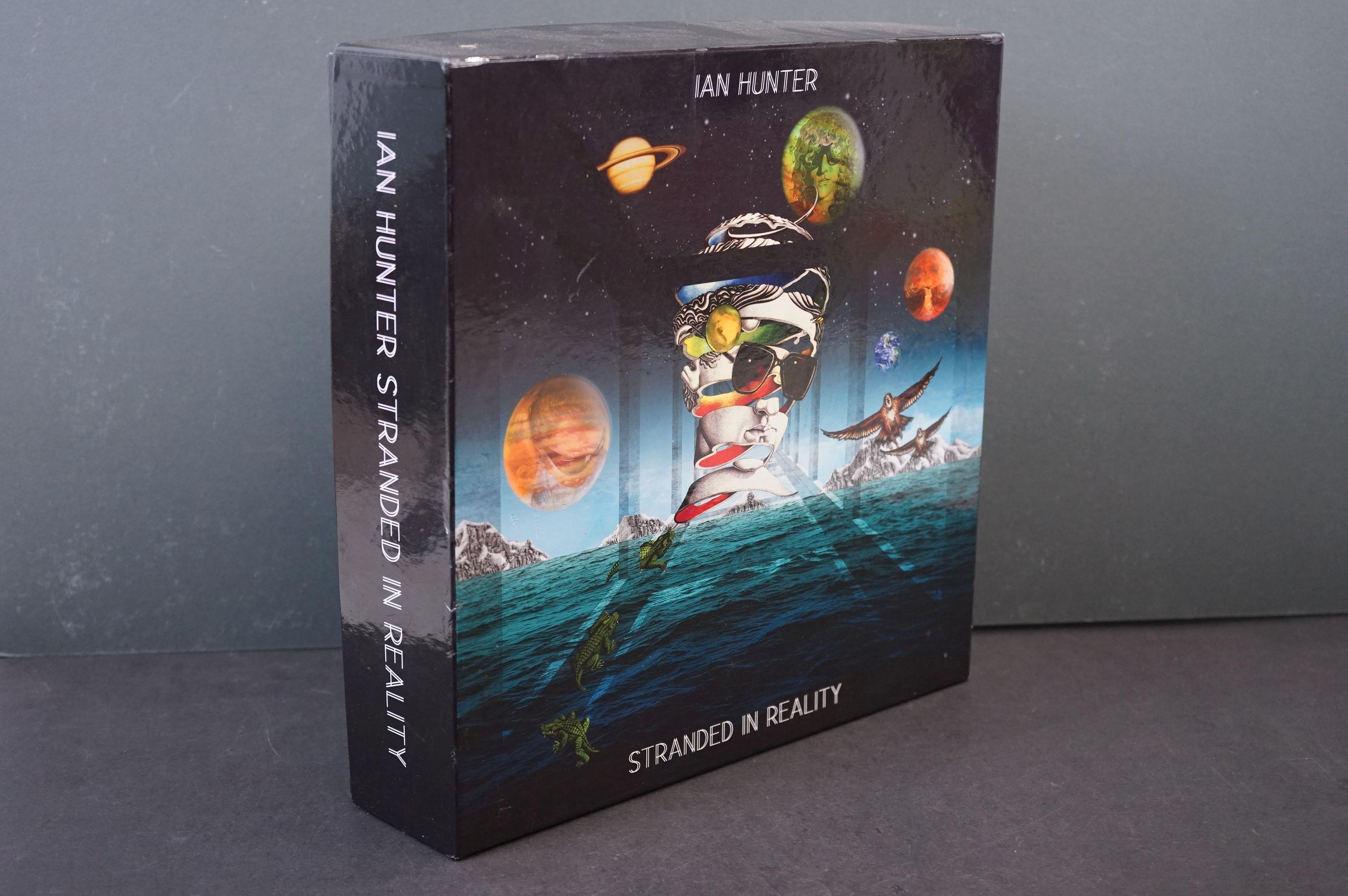 CD - Ian Hunter Stranded In Reality 30 Disc Box Set (2016) Proper Records, vg