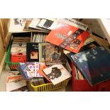 Vinyl - Very large collection of LP's & 45's spanning the genres and decades including classical,
