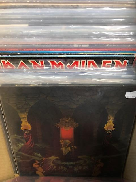 Vinyl - Approx 65 Rock & Metal LP's featuring KISS, Queen, Black Widow, Iron Maiden, AC/DC and more - Image 15 of 27