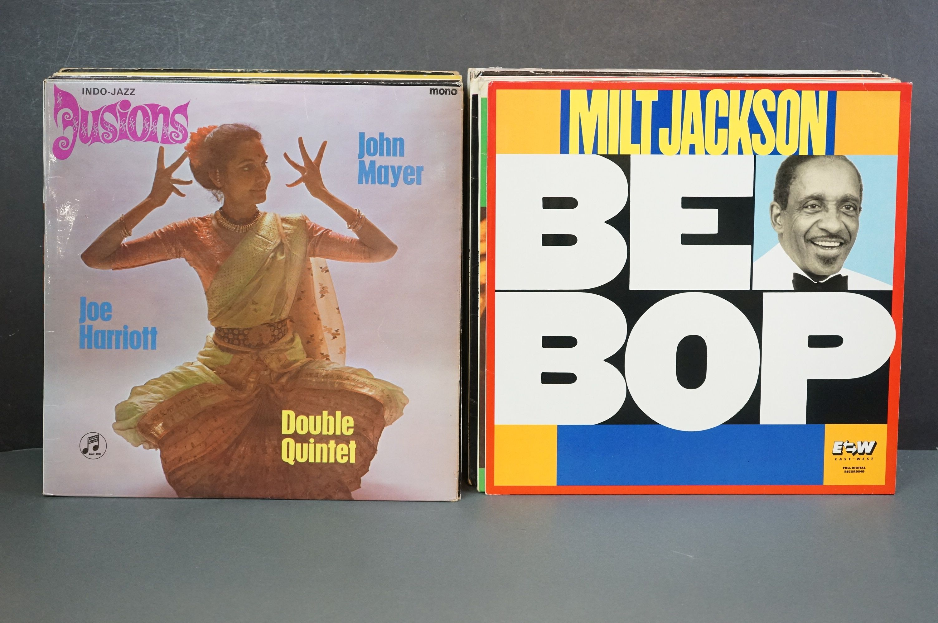 Vinyl - Around 30 Jazz LPs to include Woody Shaw, Ken Collyer, Billie Holiday, Milt Jackson, - Image 2 of 18