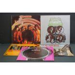 Vinyl - Five Kinks LPs to include Something Else NSPL18193, Village Green Preservation Society