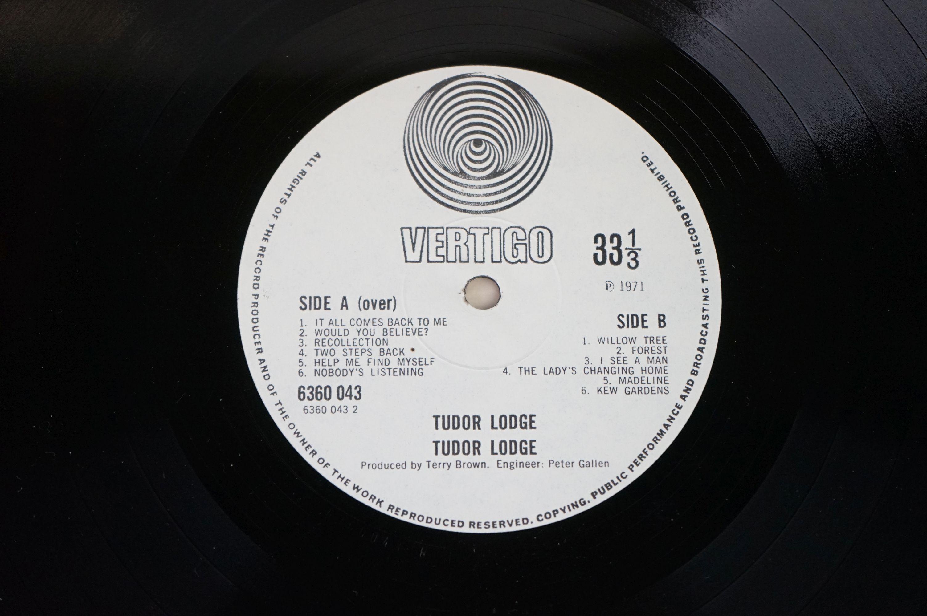 Vinyl - Tudor Lodge self titled LP on Vertigo 6360043 Unofficial release, not play tested - Image 6 of 7