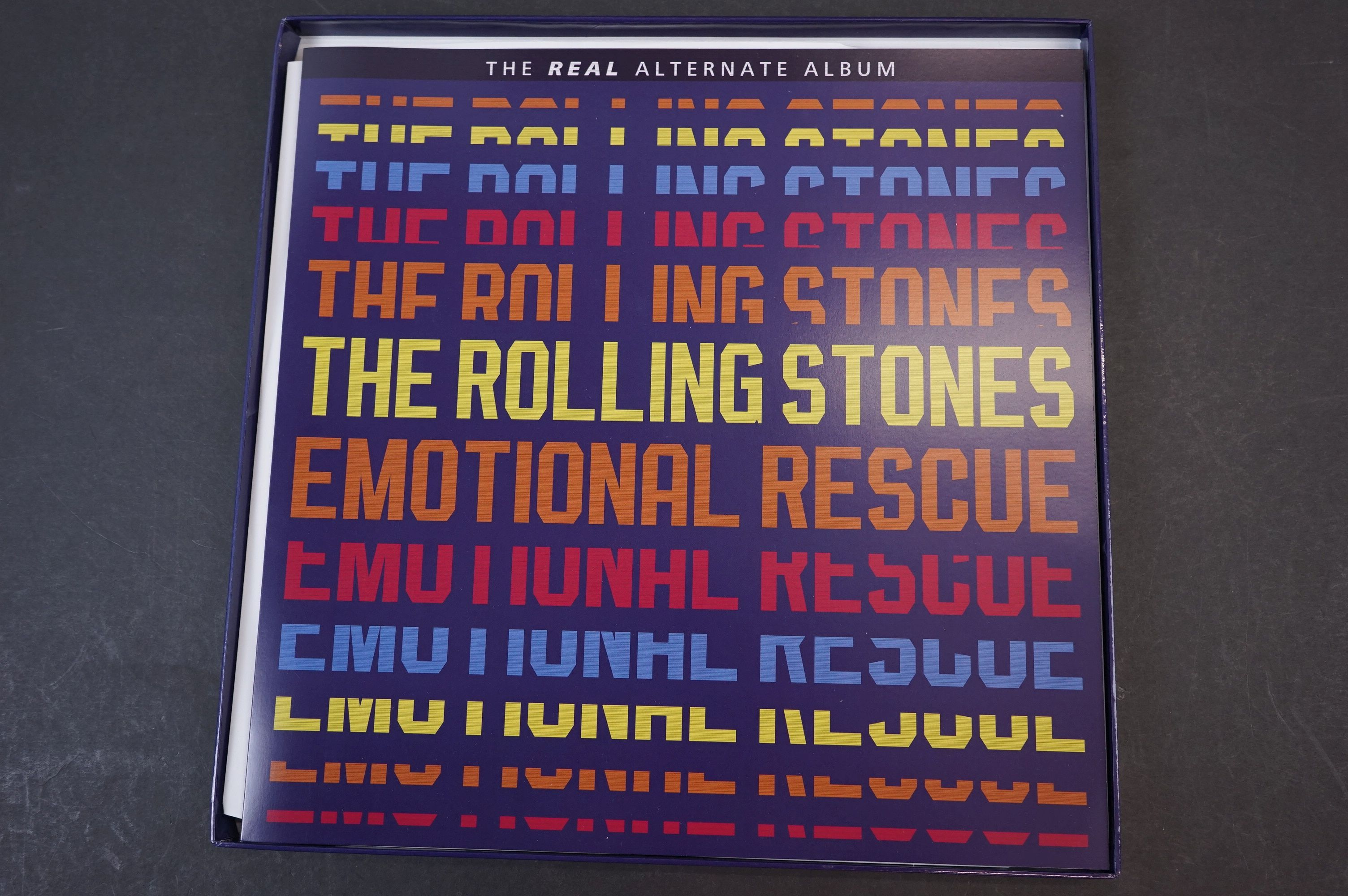 Vinyl - ltd edn The Real Alternate Album Rolling Stones Emotional Rescue 4 LP / 2 CD Box Set, - Image 3 of 12