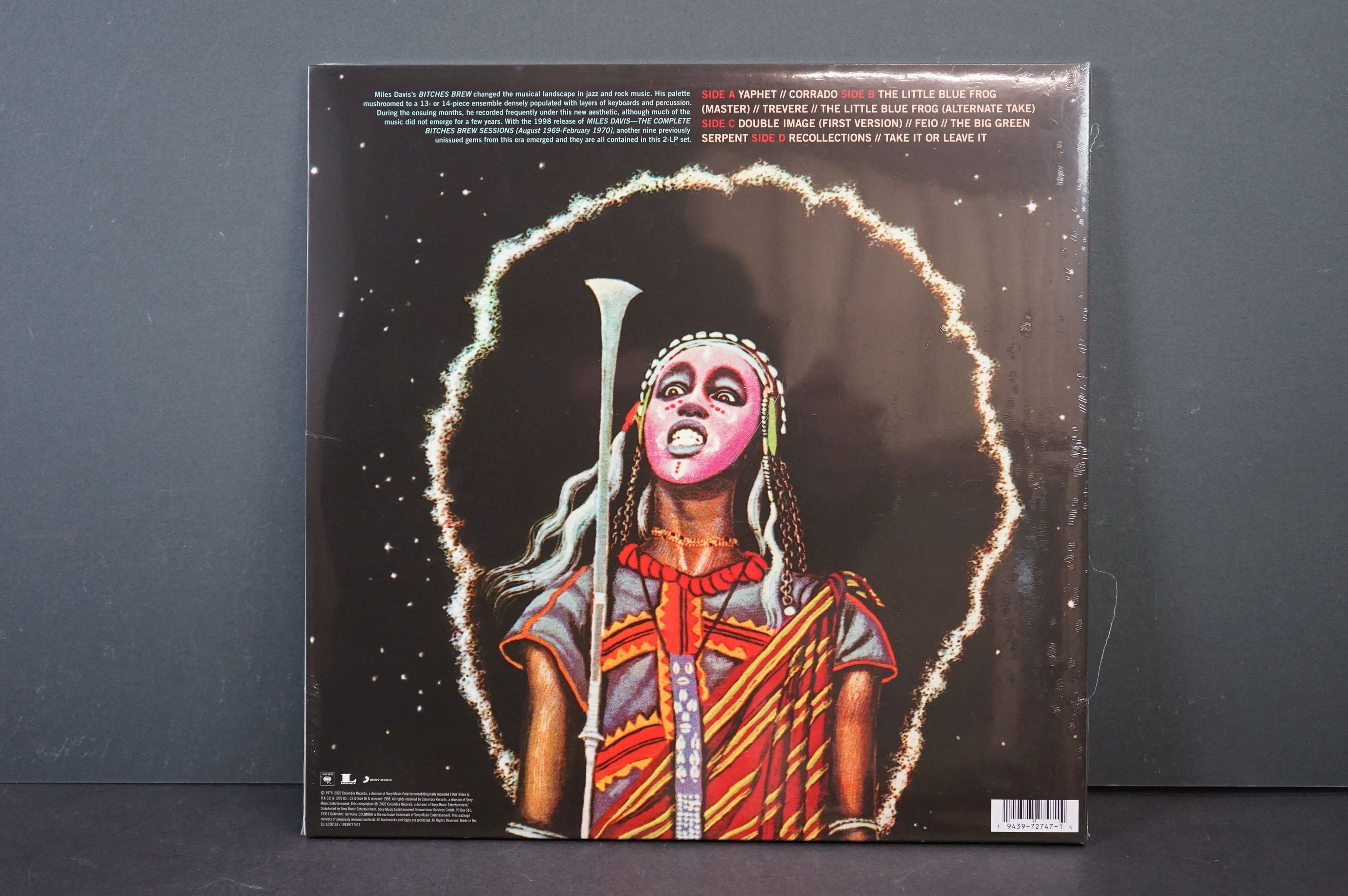 Vinyl - Miles Davis Double Image from the Bitches Brew Sessions RSD LP, sealed - Image 2 of 2
