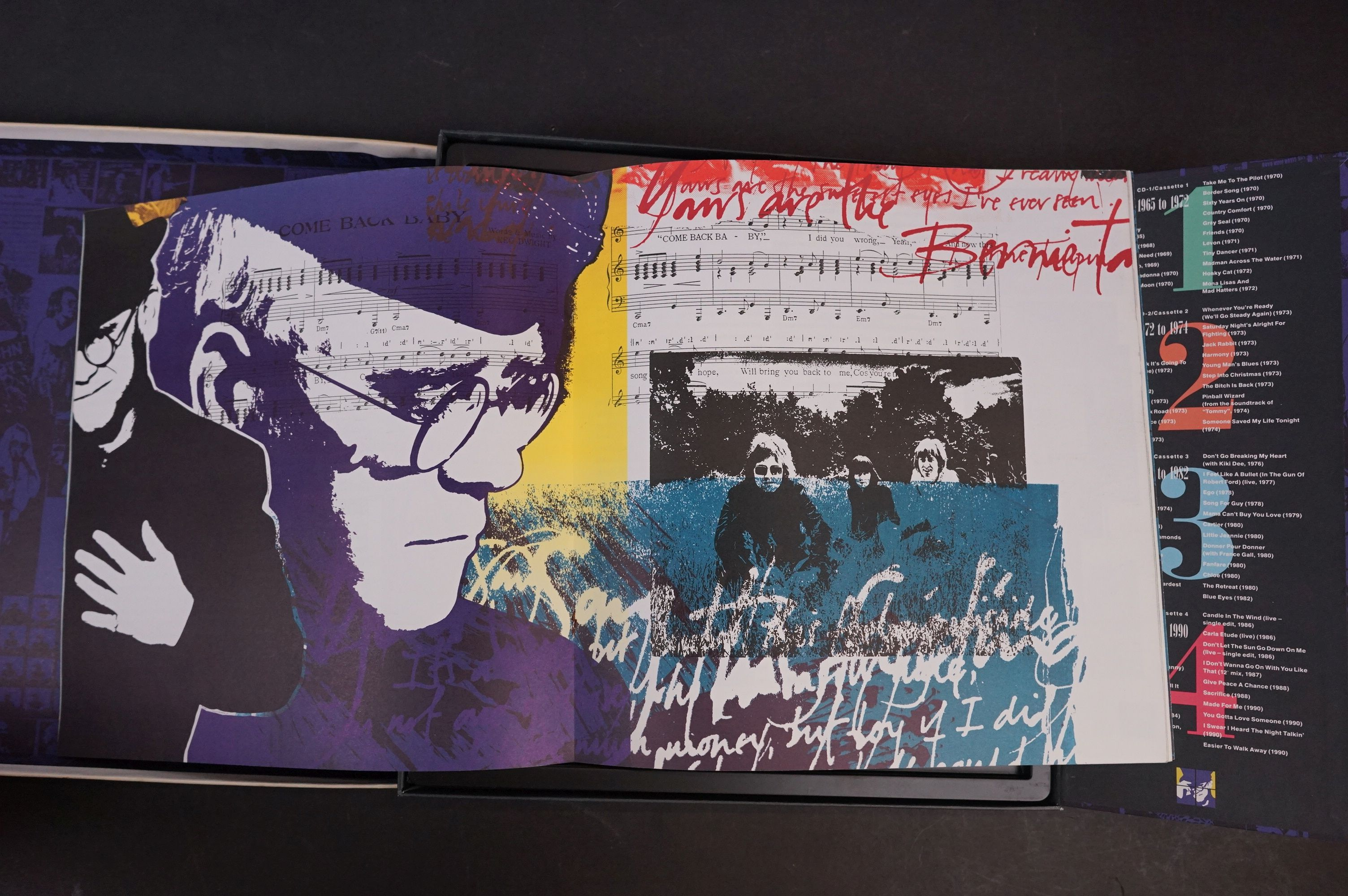 CD - Elton John To Be Continued Box Set MCAD4 - 10110 complete and vg - Image 4 of 6