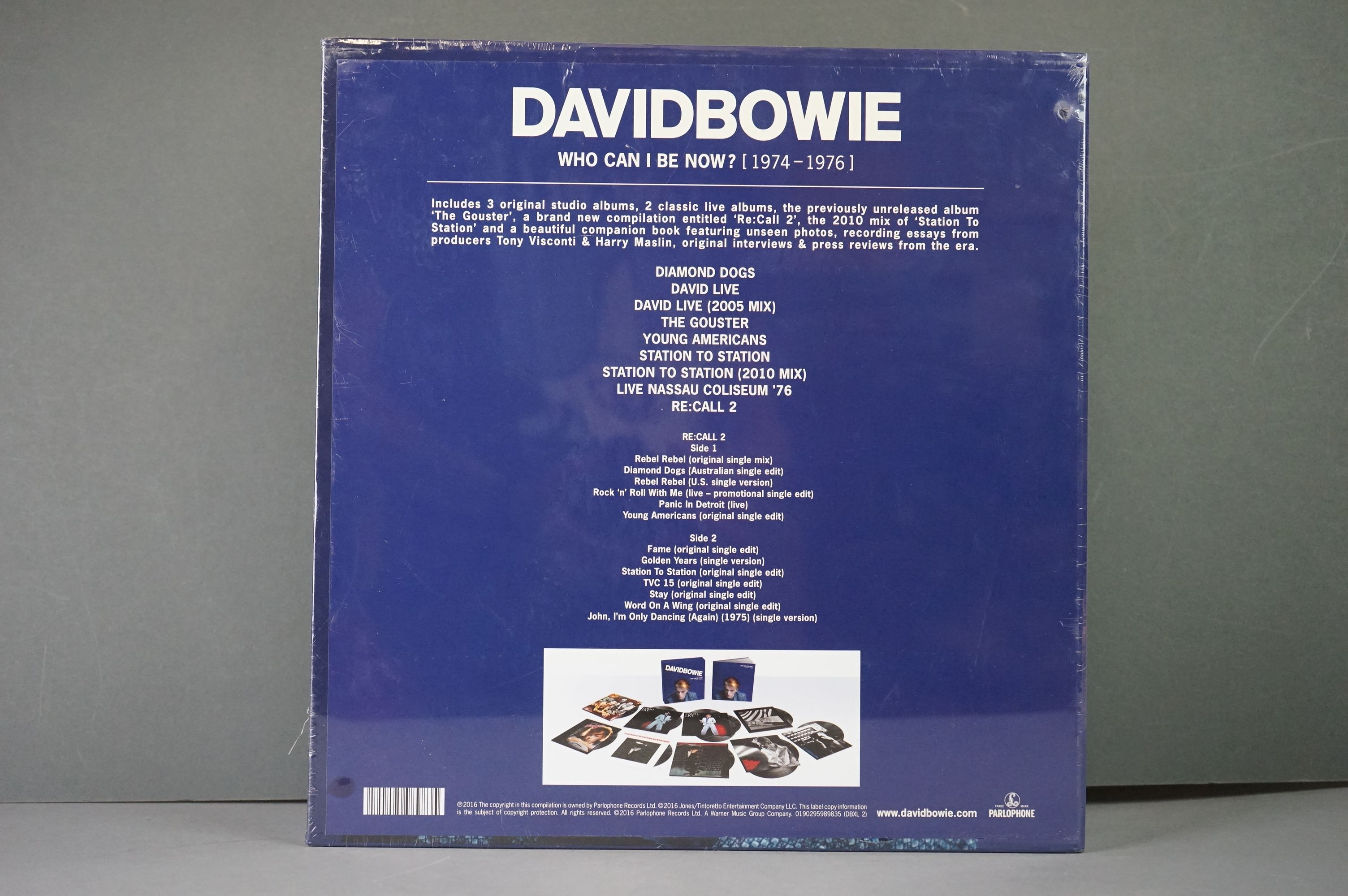 Vinyl - David Bowie Who Can I Be Now? (1974-1976) 9 LP Box Set DBXL2, sealed - Image 3 of 3