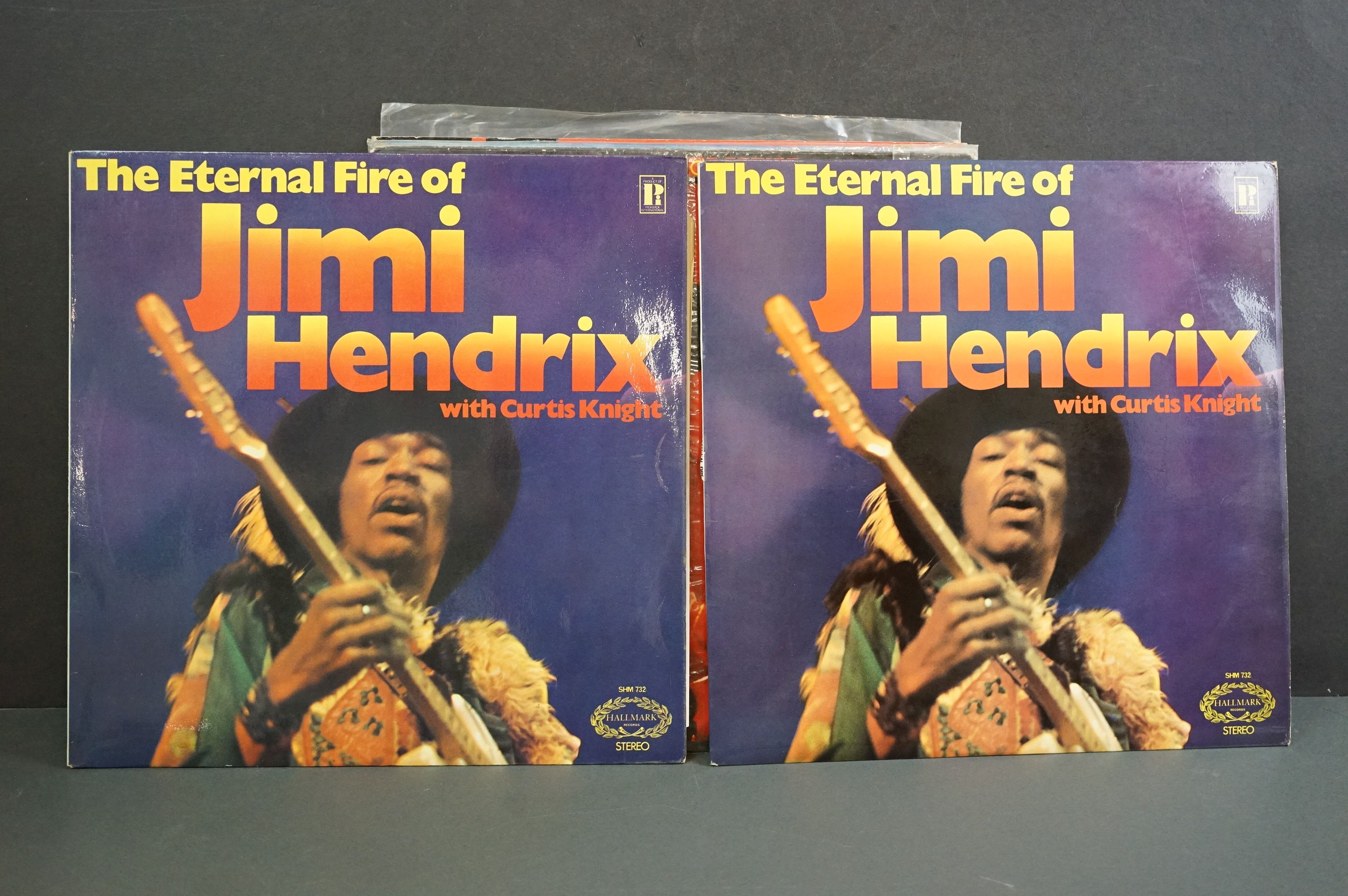 Vinyl - Nine Jimi Hendrix LPs to include Smash Hits, Hey Joe (Italian pressing), Stone Free, Jimi - Image 3 of 9