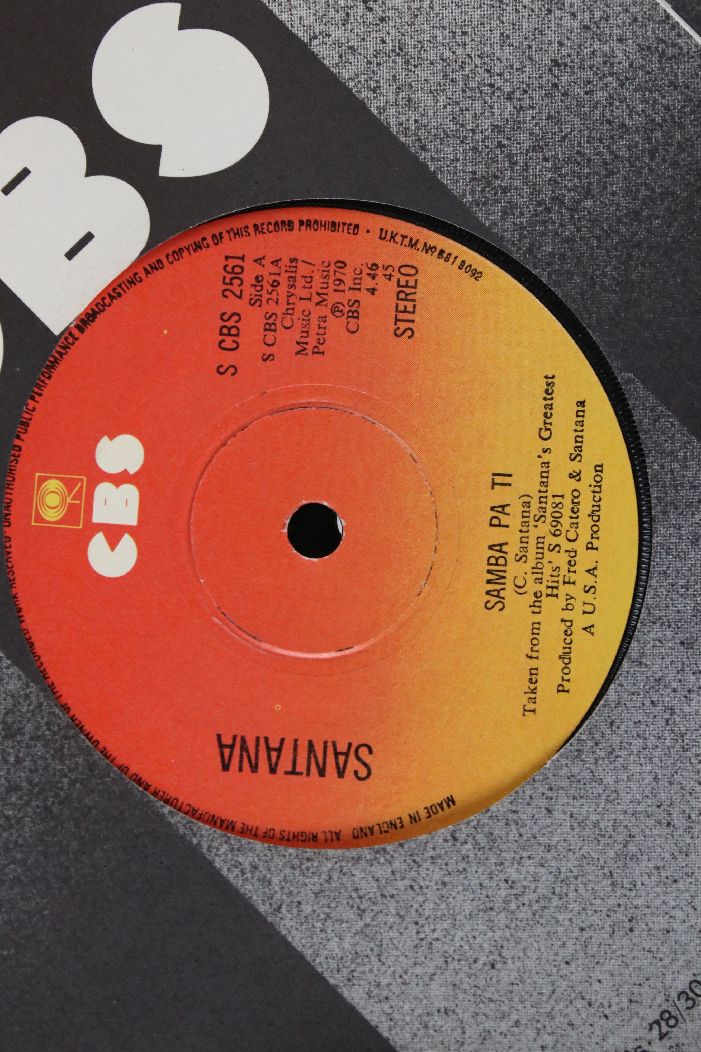 Vinyl - Collection of over 70 45's spanning genres and decades including Fleetwood Mac, Chicken - Image 13 of 15