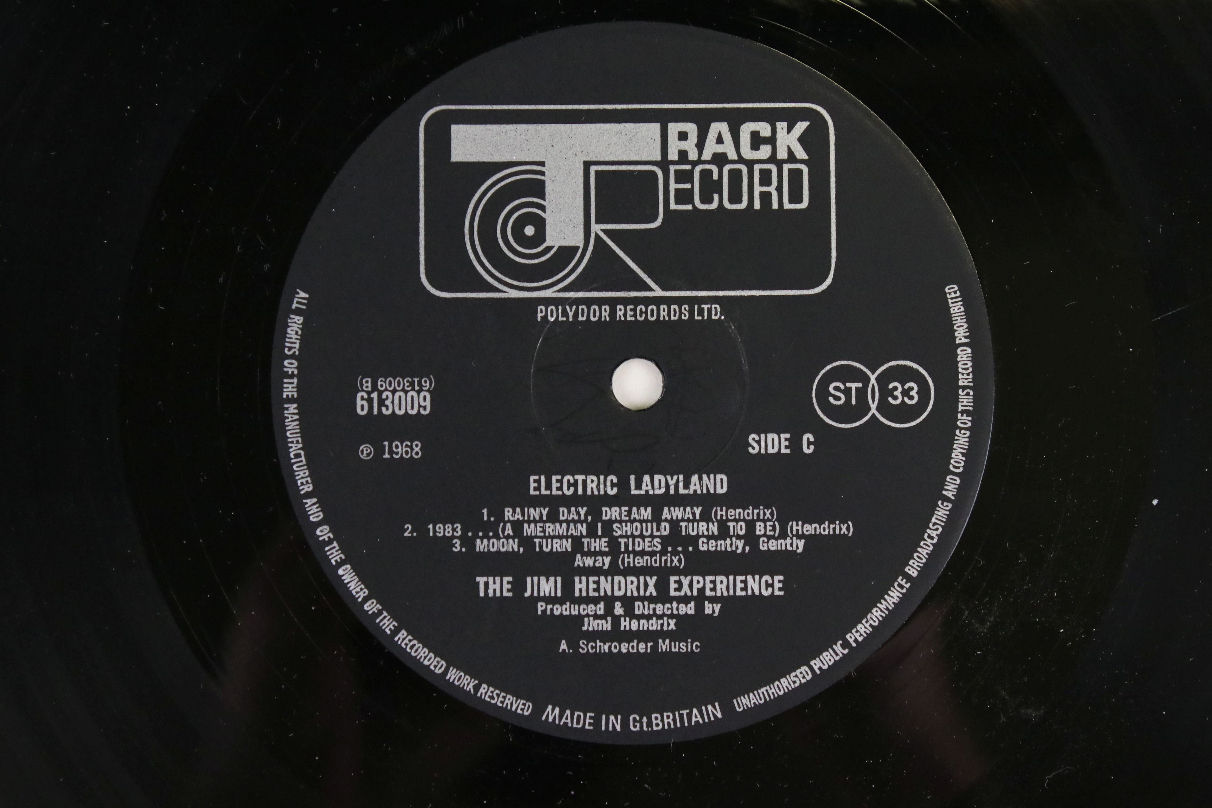 Vinyl - Jimi Hendrix Electric Ladyland on Track 61300819 blue text, Jimi to the right when - Image 6 of 9