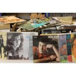 Vinyl - Large quantity of various LPs featuring varies artists and genres, condition varies with