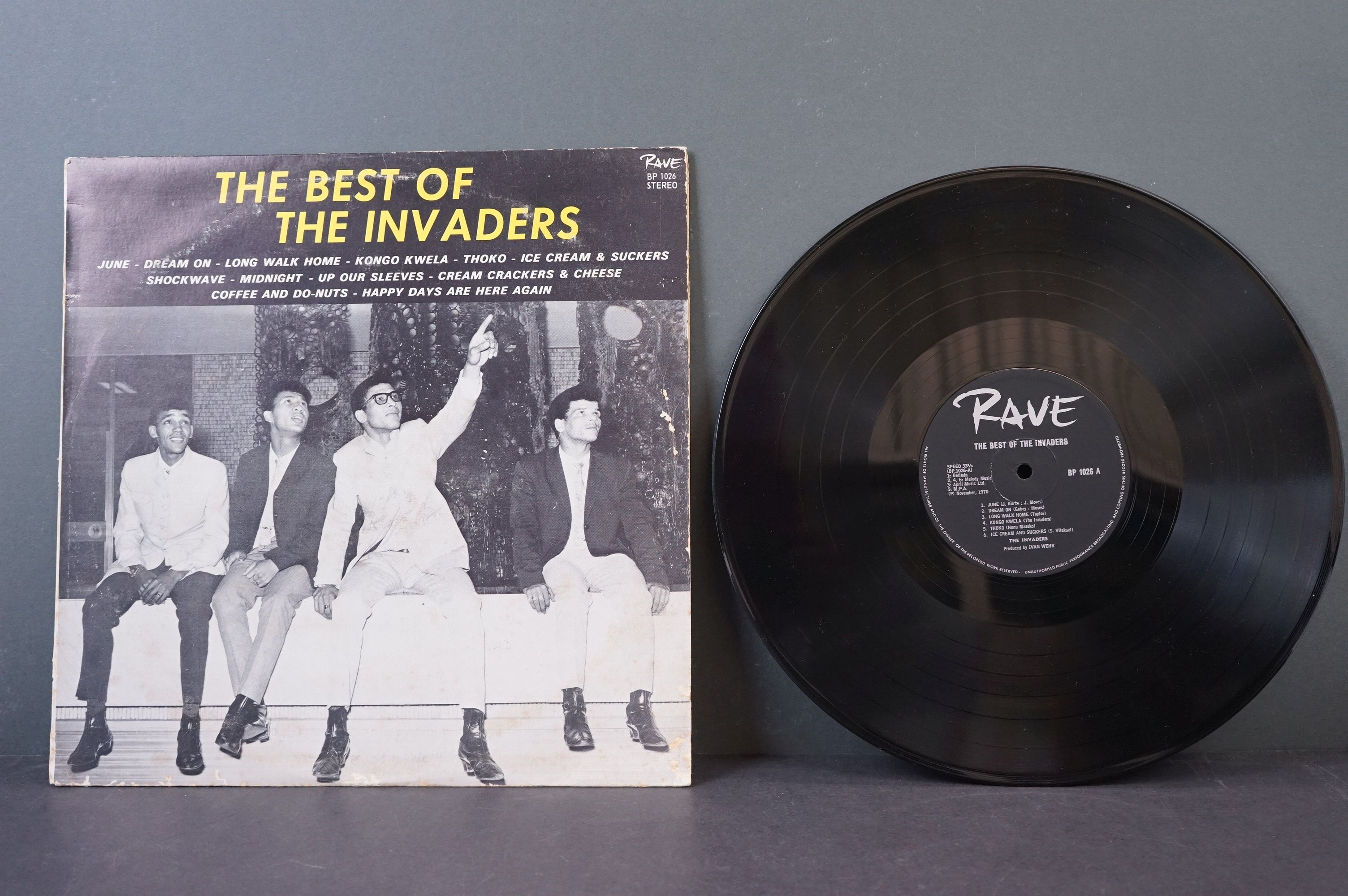Vinyl - Psych / Rock / Garage - Four scarce African Pressing original albums to include Nazz - - Image 2 of 9
