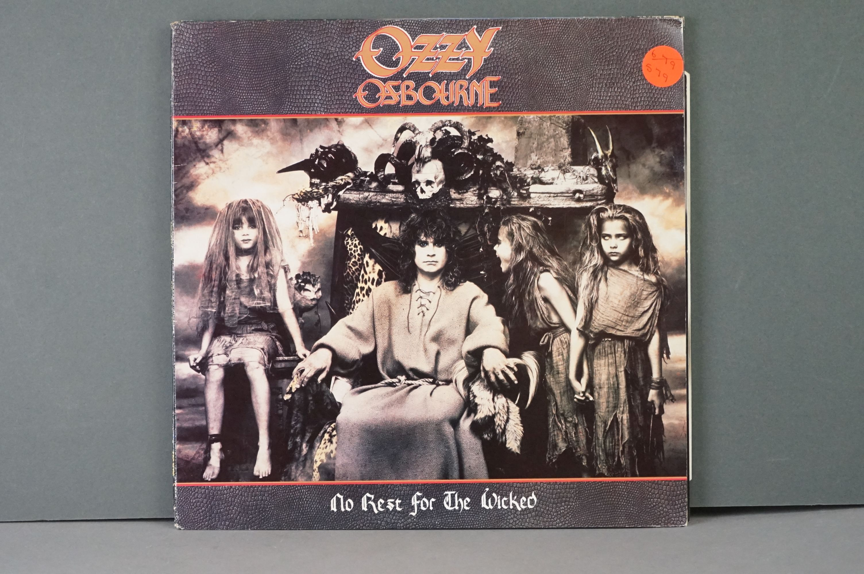 Vinyl - Six Ozzy Osbourne vinyl LP's to include The Ultimate Sin (Epic Records 26404), Live E.P. ( - Image 6 of 8