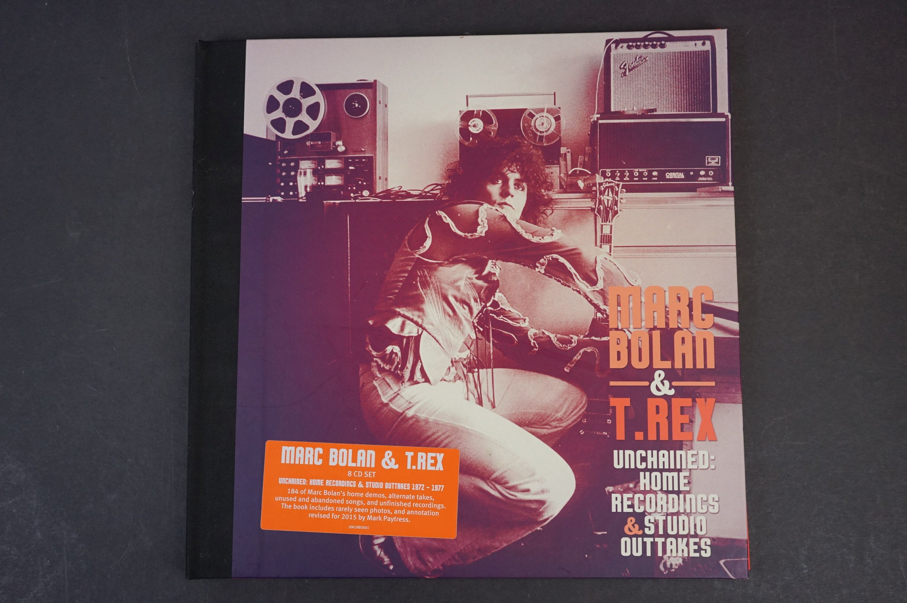 CD - Marc Bolan & T Rex Unchained Home Recordings & Studio Outtakes 8 CD Set UNCHBOX01 ex