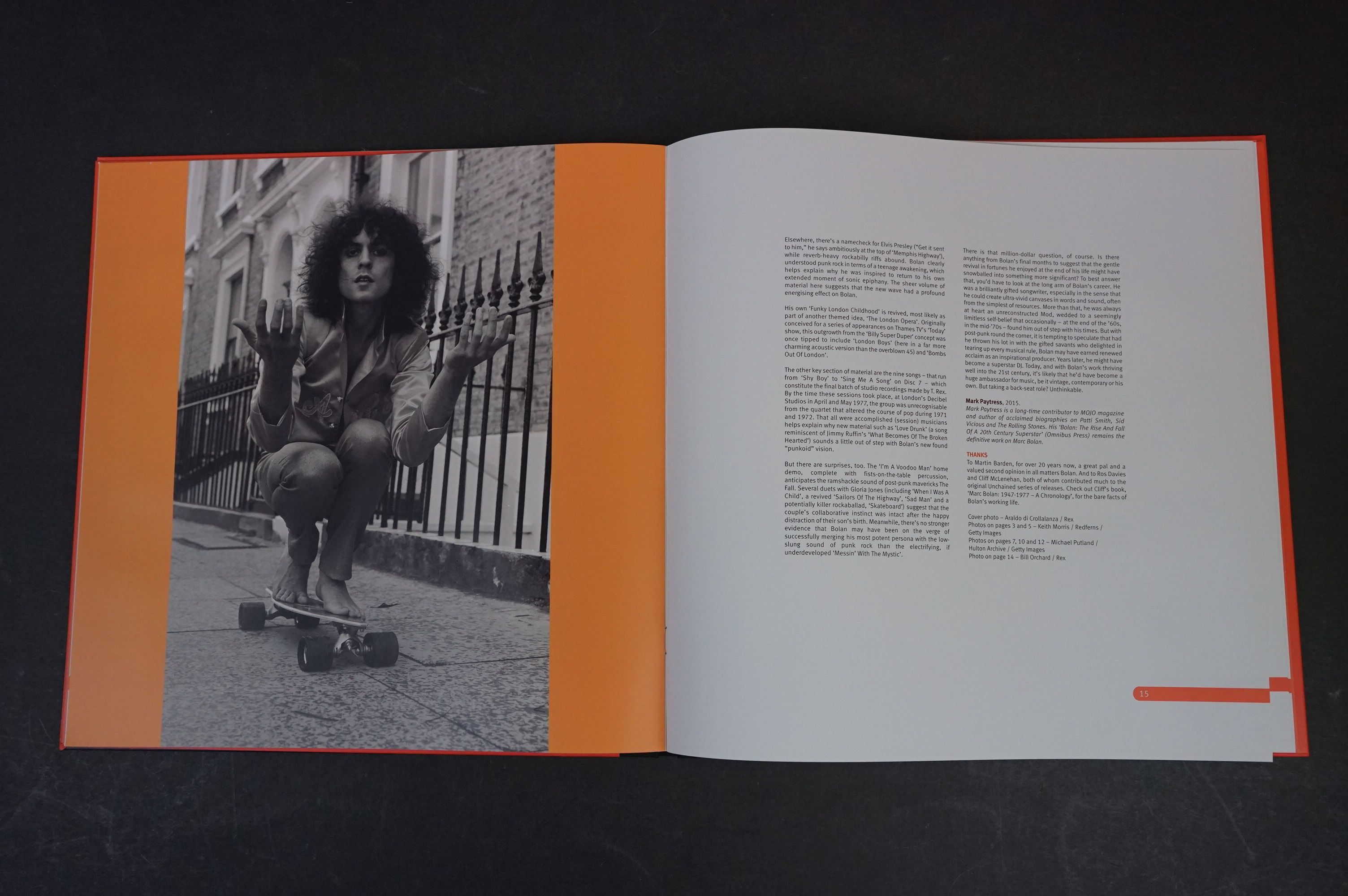 CD - Marc Bolan & T Rex Unchained Home Recordings & Studio Outtakes 8 CD Set UNCHBOX01 ex - Image 3 of 6