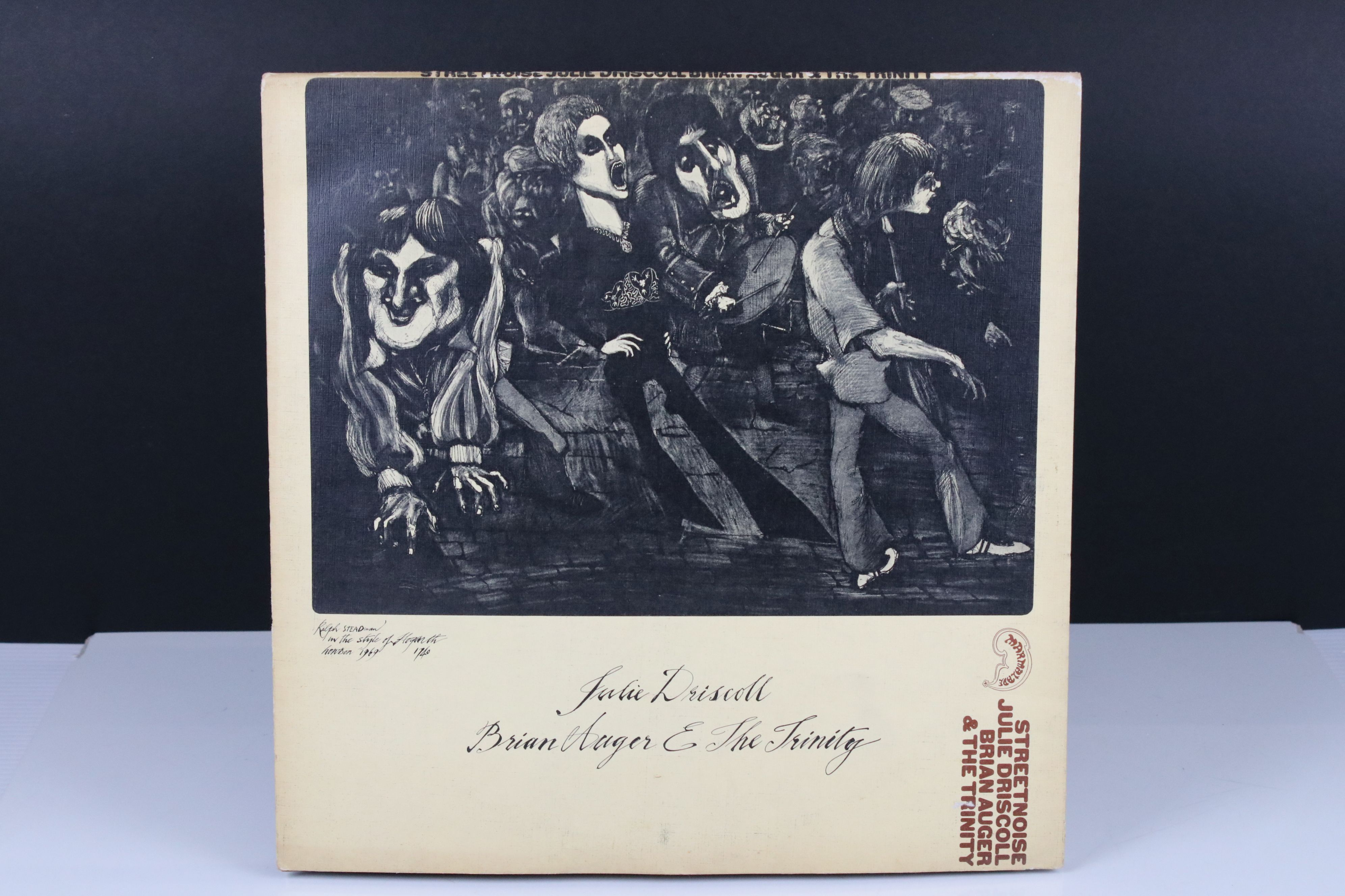 Vinyl - Julie Driscoll and Brian Auger Streetnoise LP on Marmalade 608005/6 Stereo, gatefold sleeve,
