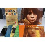 Vinyl - Francoise Hardy collection of 9 LP's to include Self Titled (VRL 3028), Voila! (VRL 3031),
