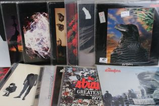 Vinyl - Punk collection of 17 Stranglers LP's including rare Australian 3D cover of The Raven (VG+/