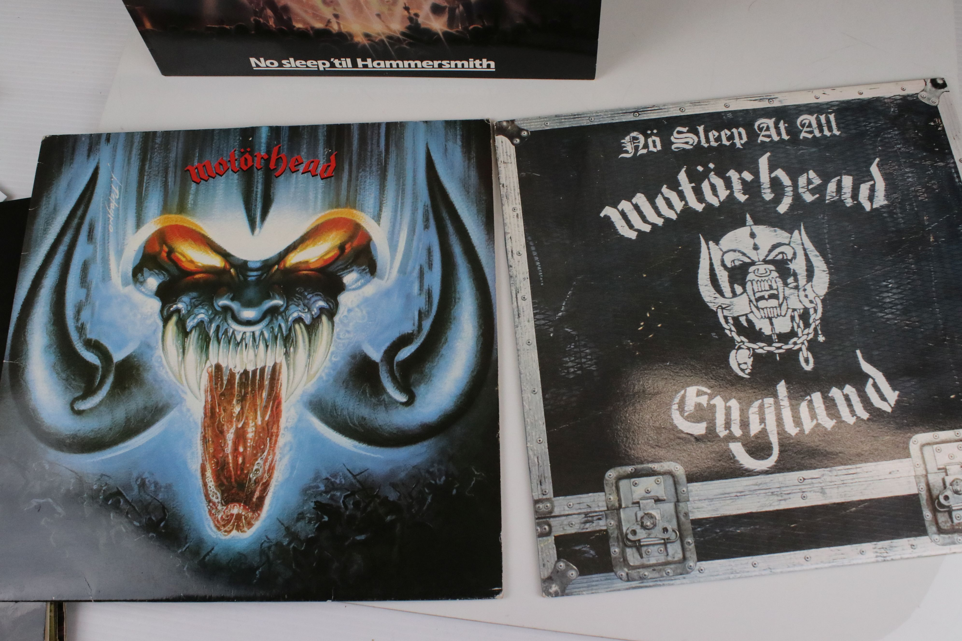 Vinyl - Motorhead 7 LP's to include Self Titled (WLK 2), No Sleep At All (GWLP31), Rock N Roll ( - Image 4 of 5