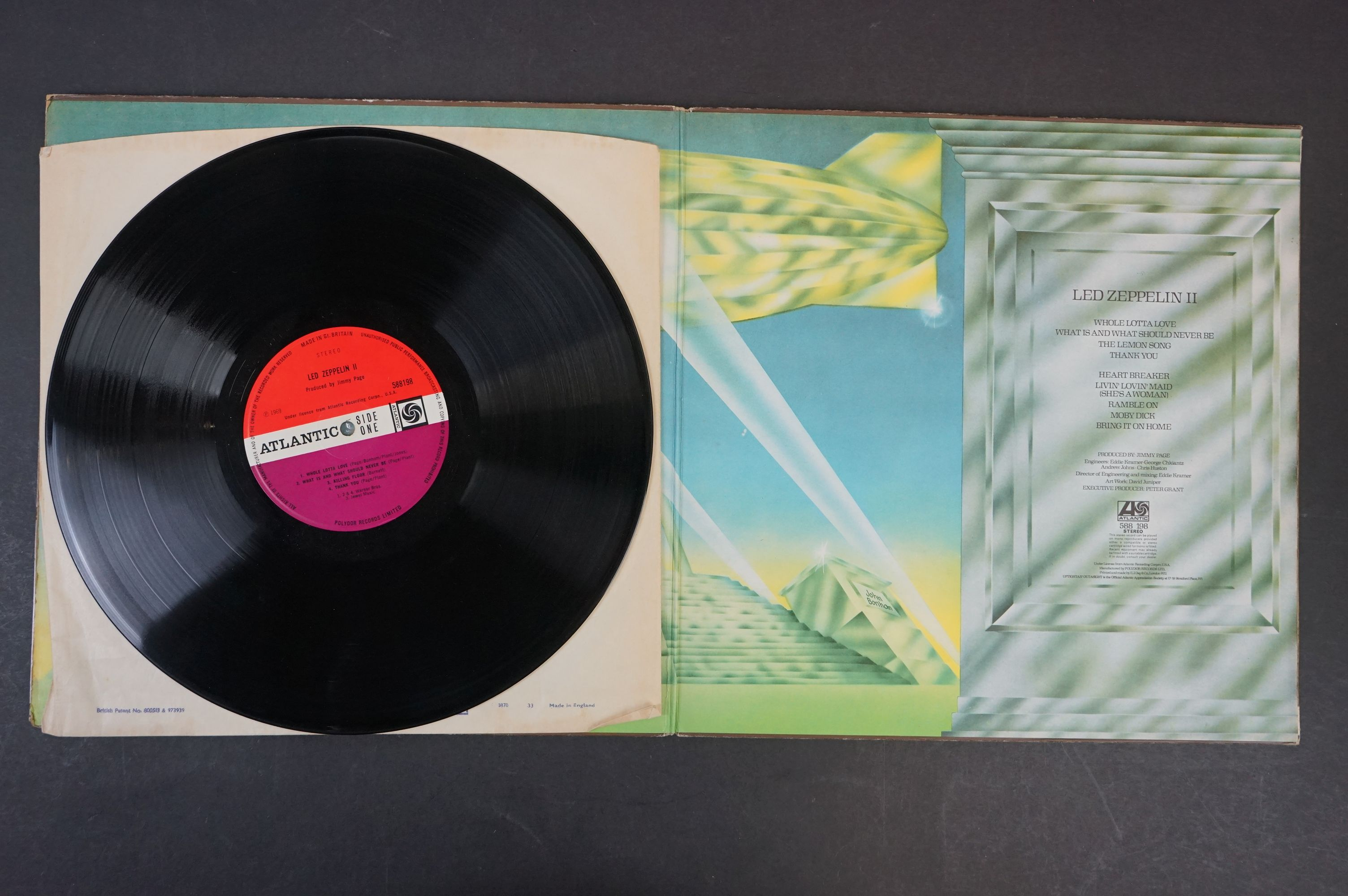Vinyl - Six Led Zeppelin LPs to include In Through the Outdoor (cover D) SSK59410, Coda 790051, 2 - Image 4 of 17