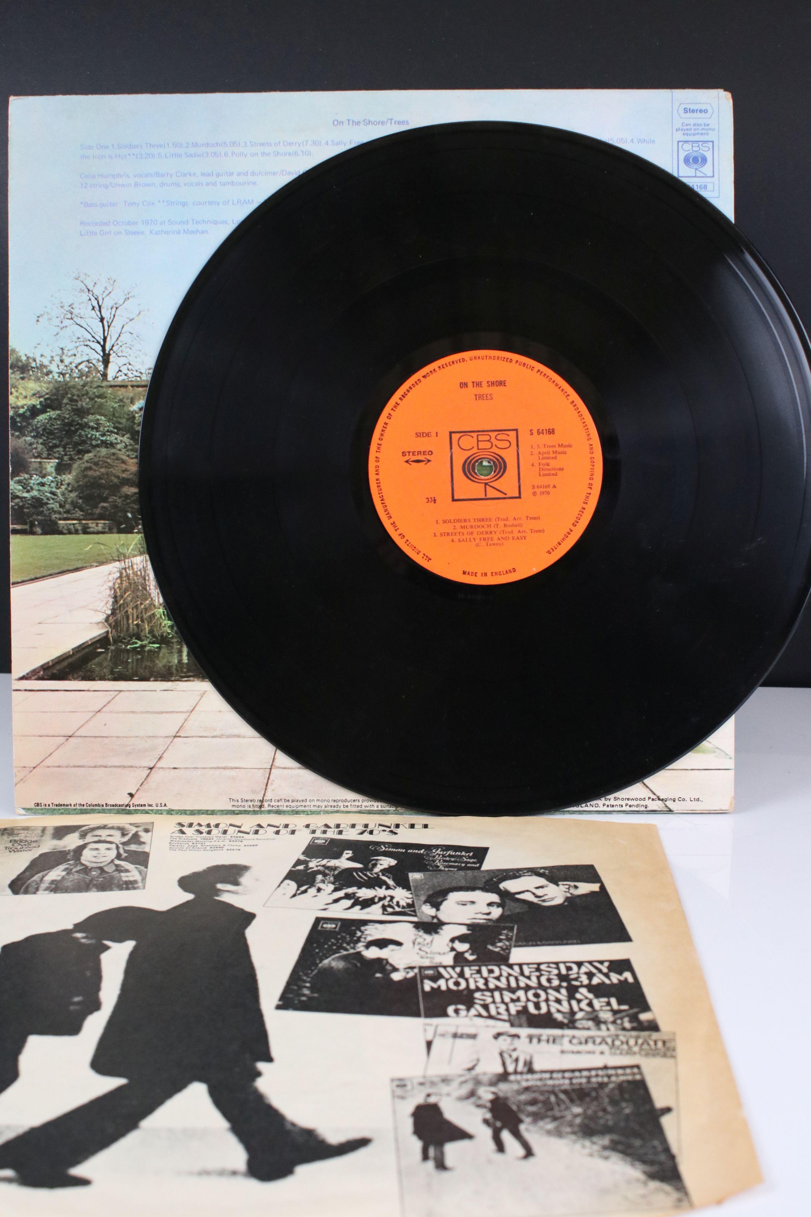 Vinyl - Trees On The Shore LP on CBS 64168 Stereo, vg+ - Image 2 of 4